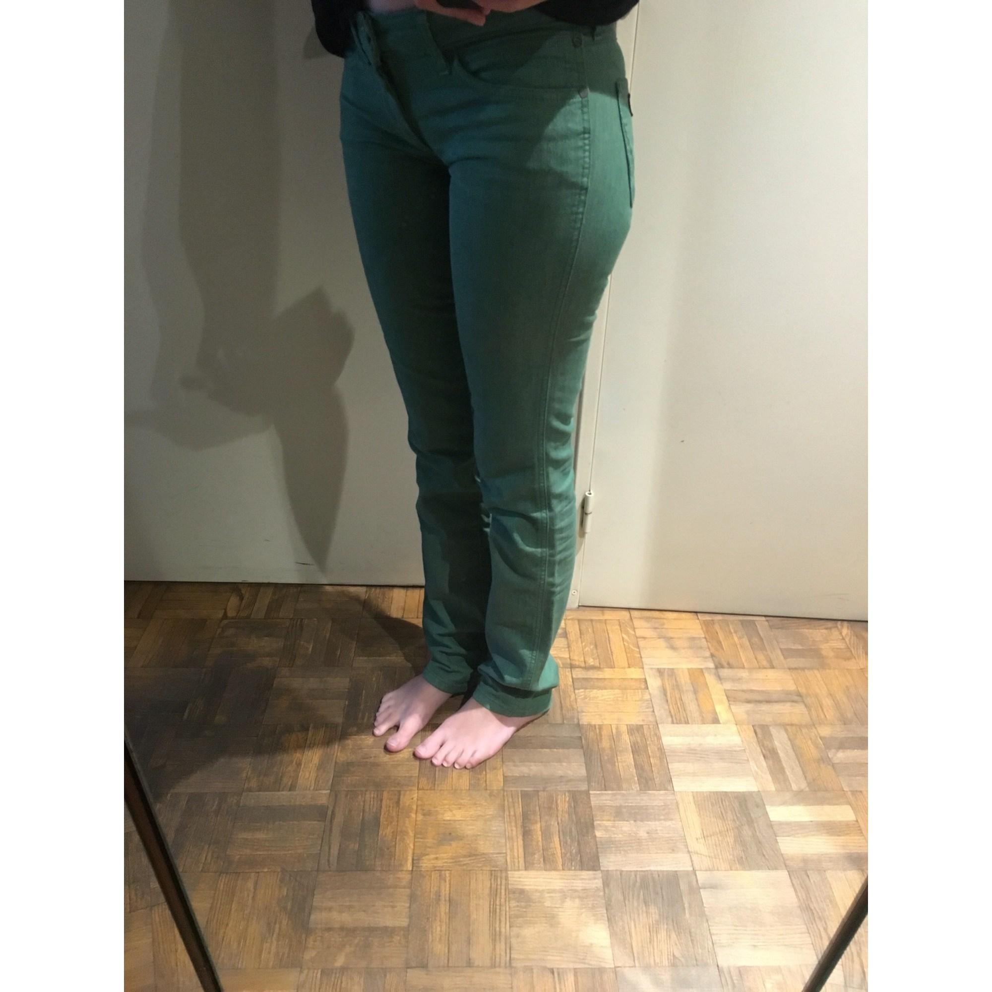 Jeans droit WRANGLER Vert
