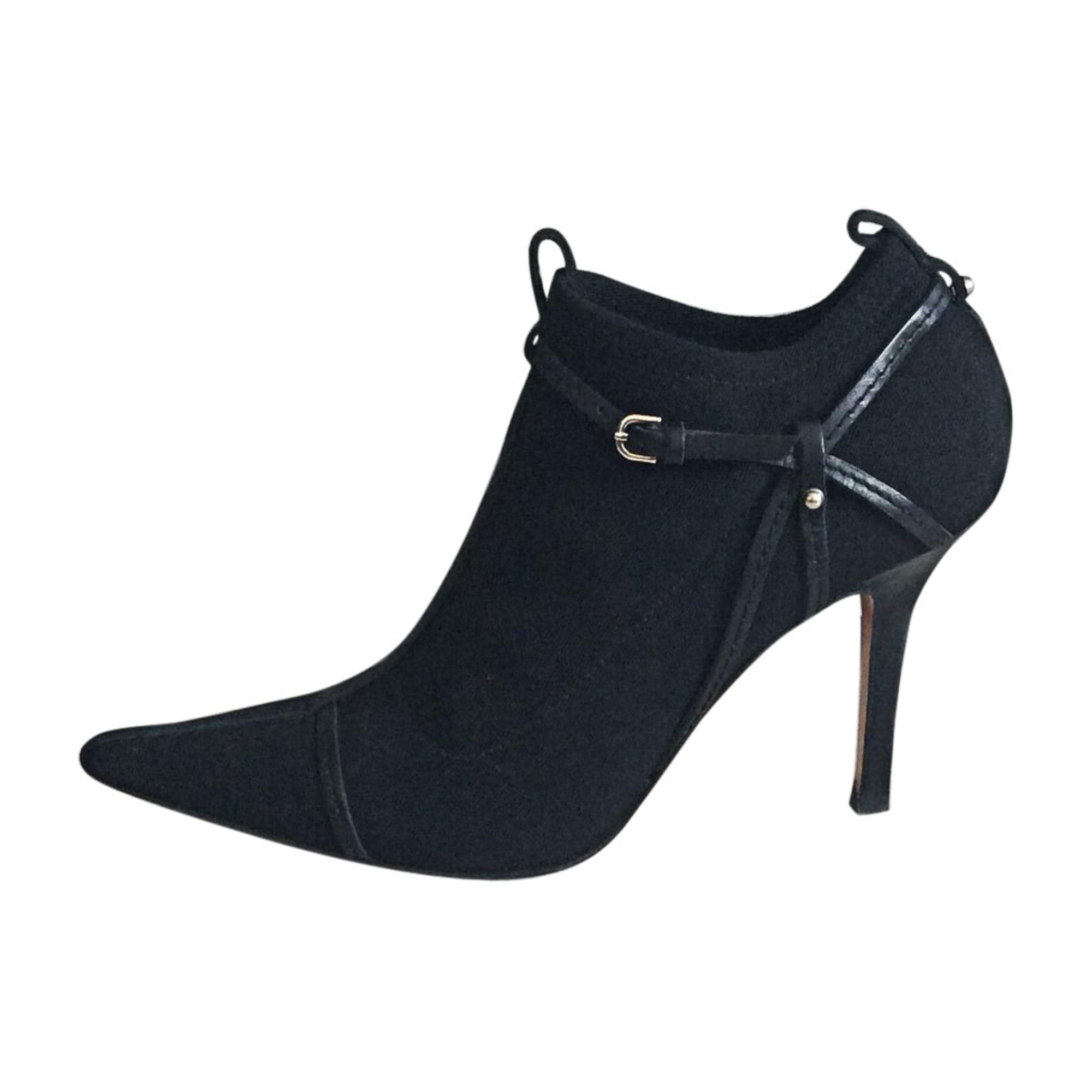 f41418724fb Bottines   low boots à talons GUCCI Noir