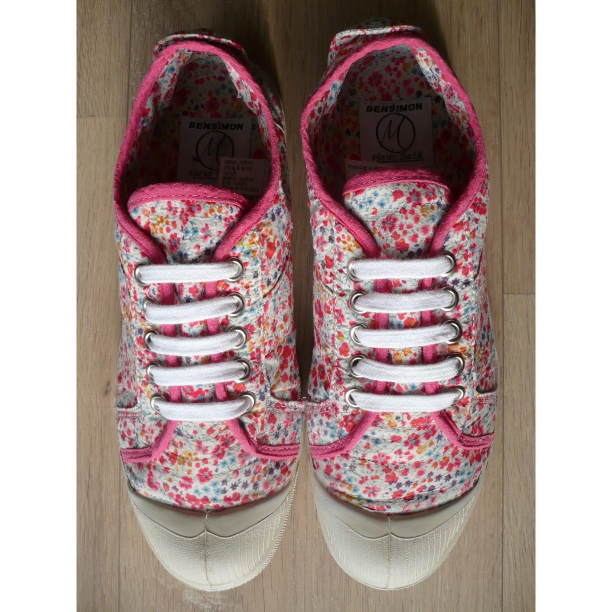 e338334d98d3a5 Chaussures à lacets BENSIMON 38 multicouleur - 7938810