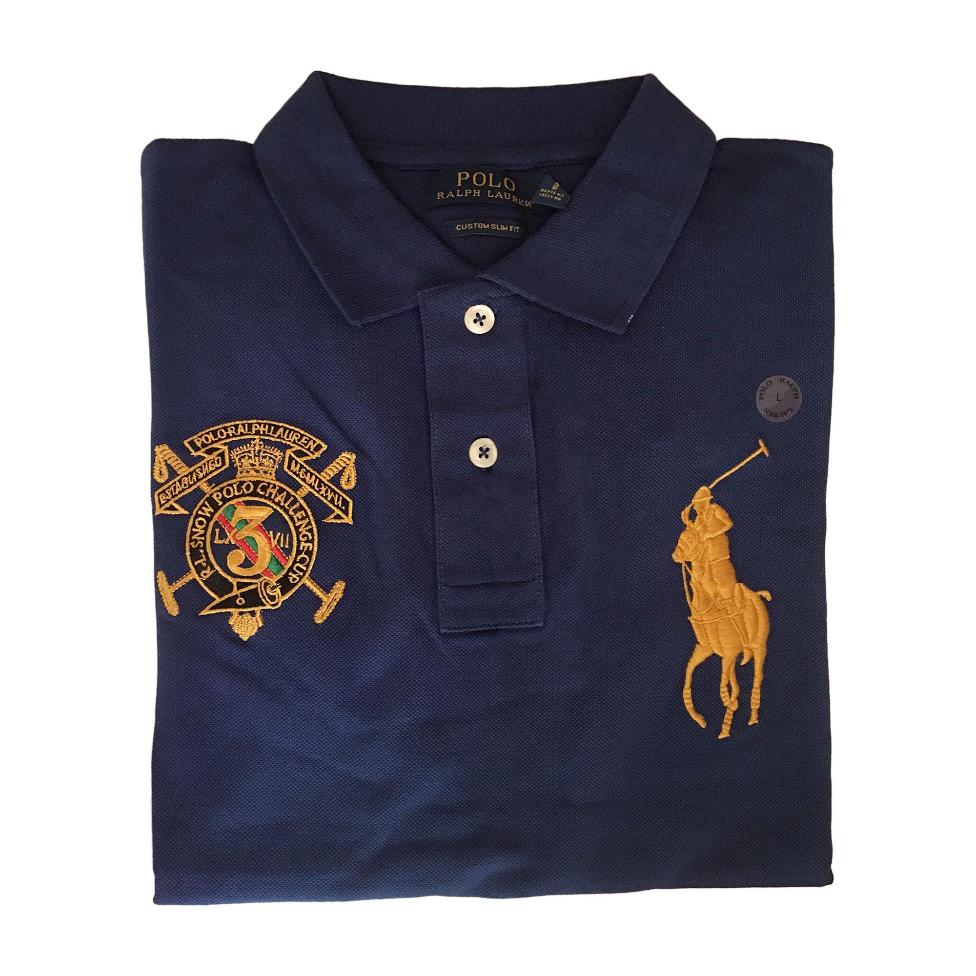 f1146dff9cb7 Polo RALPH LAUREN 3 (L) bleu vendu par Amélie 2563 - 7939697