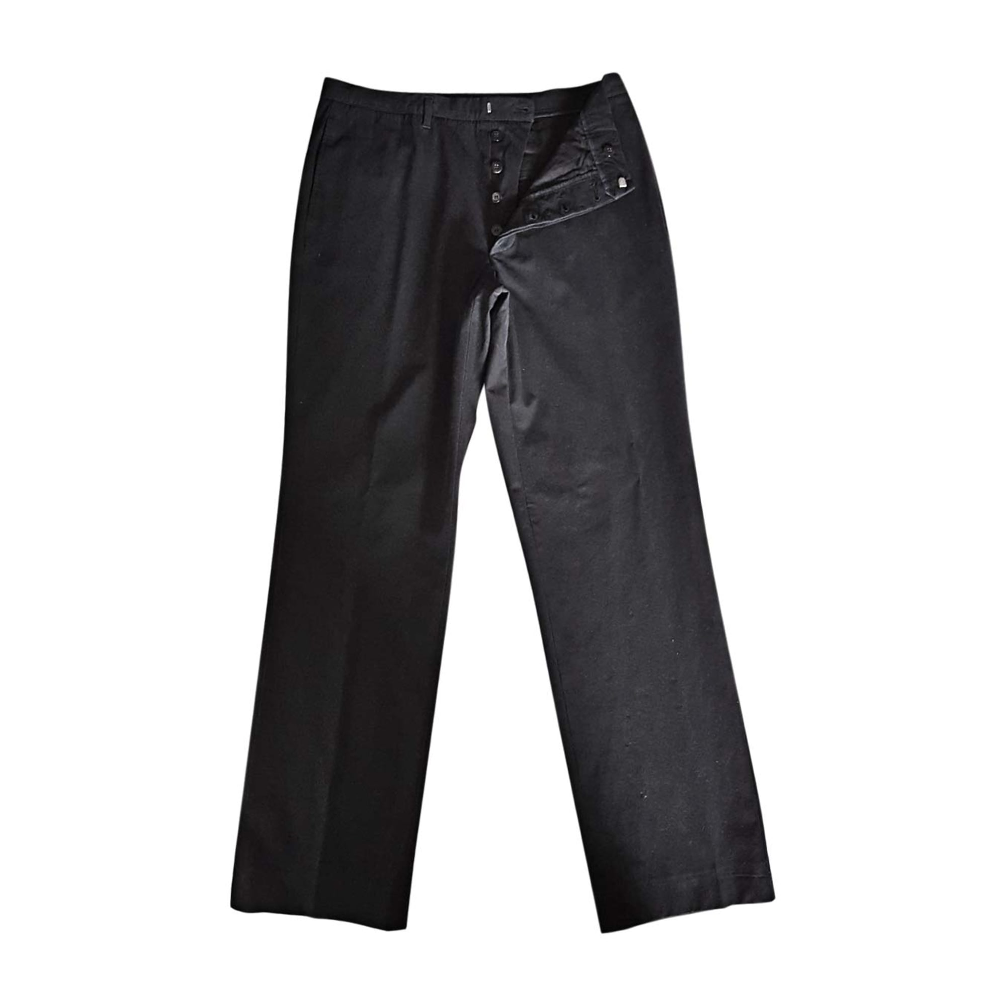 fb5a63f480647 Pantalon droit JIL SANDER 40 (M) noir - 7941038