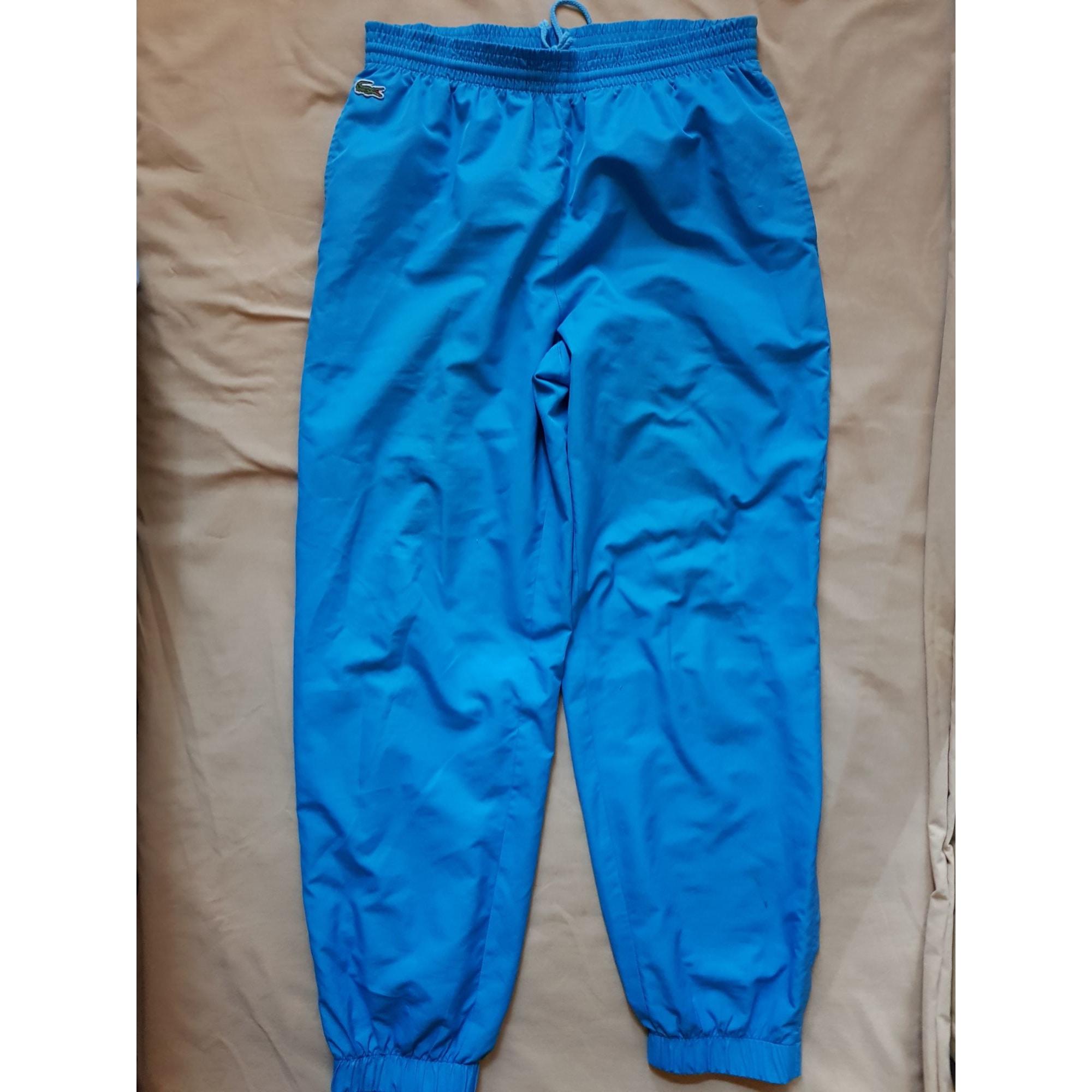 29c8b9ff55 Pantalon de survêtement LACOSTE Bleu, bleu marine, bleu turquoise