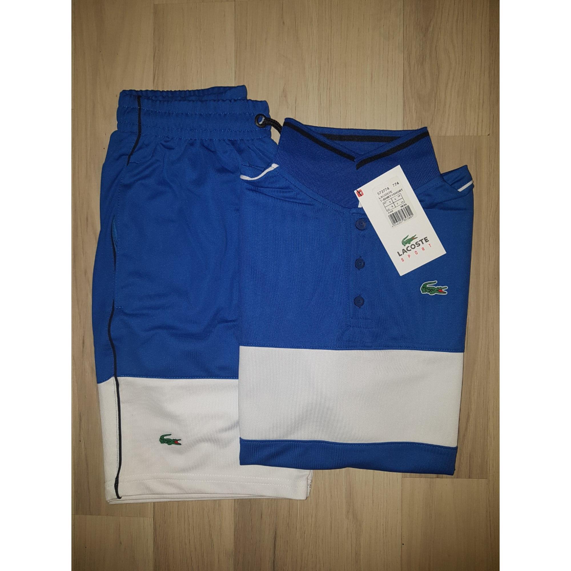 4005639328be Ensemble jogging LACOSTE Bleu, bleu marine, bleu turquoise