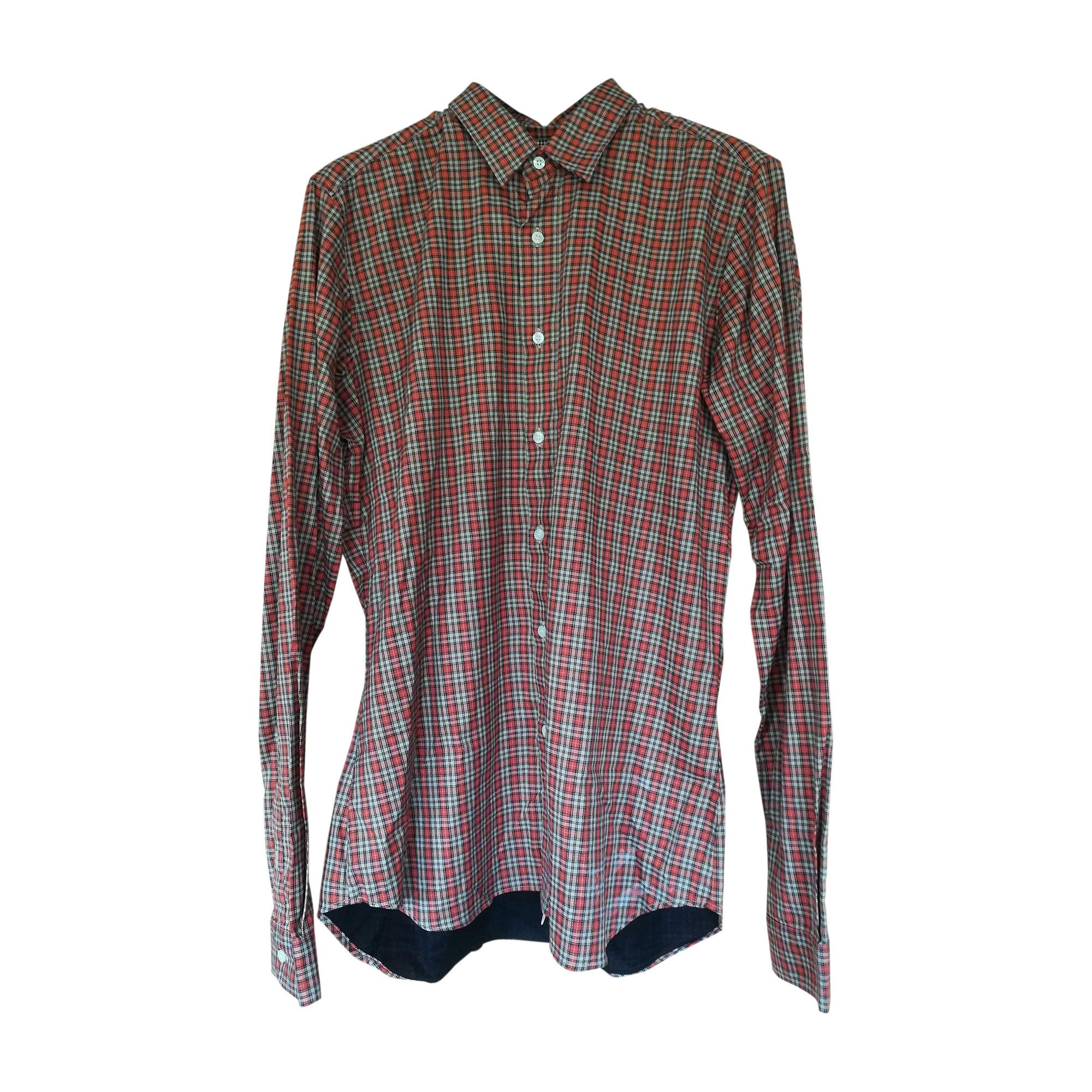 chemise christian lacroix 41/42 (l) orange - 7950808