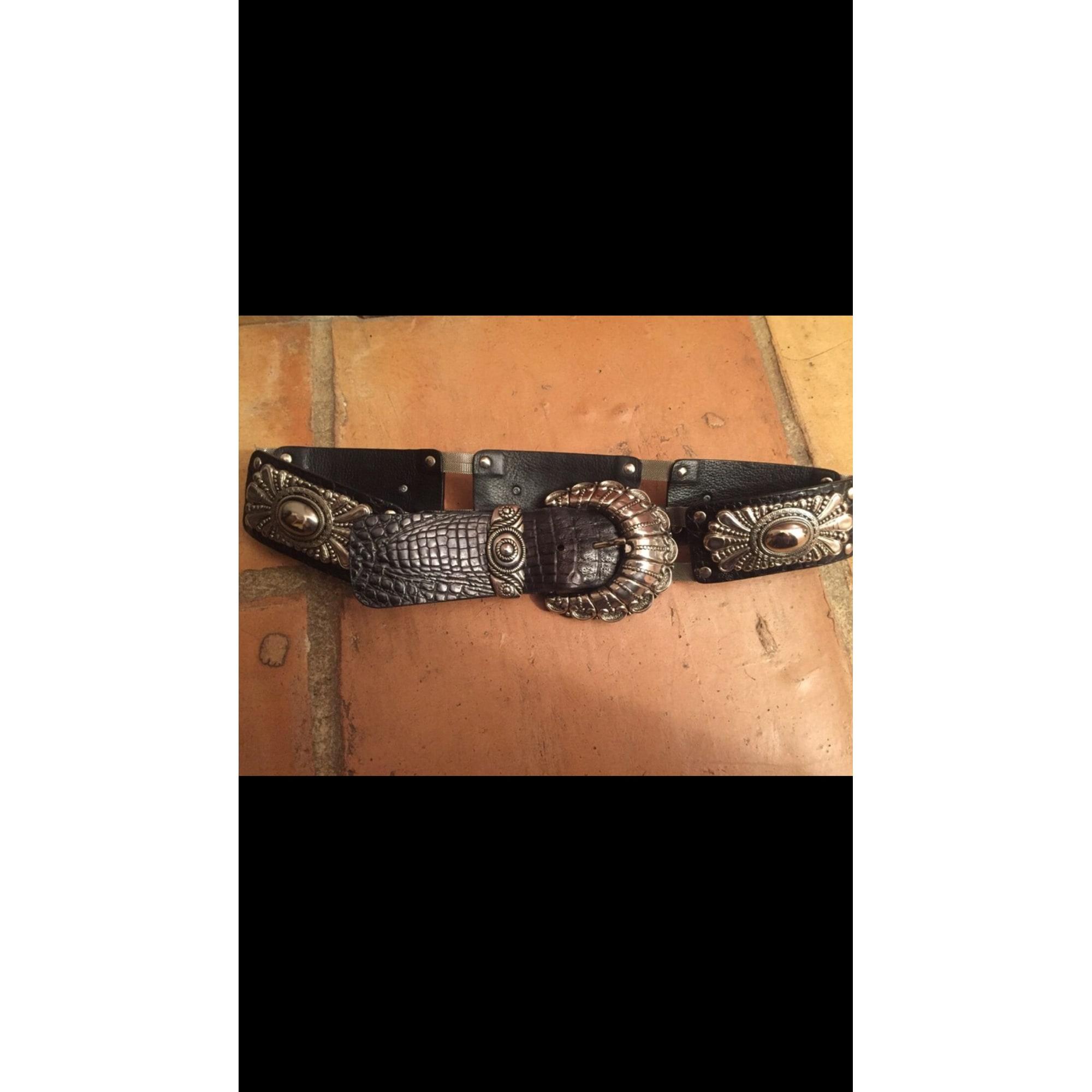 Ceinture large NANNI 80 noir - 7952395 a6923b3f725