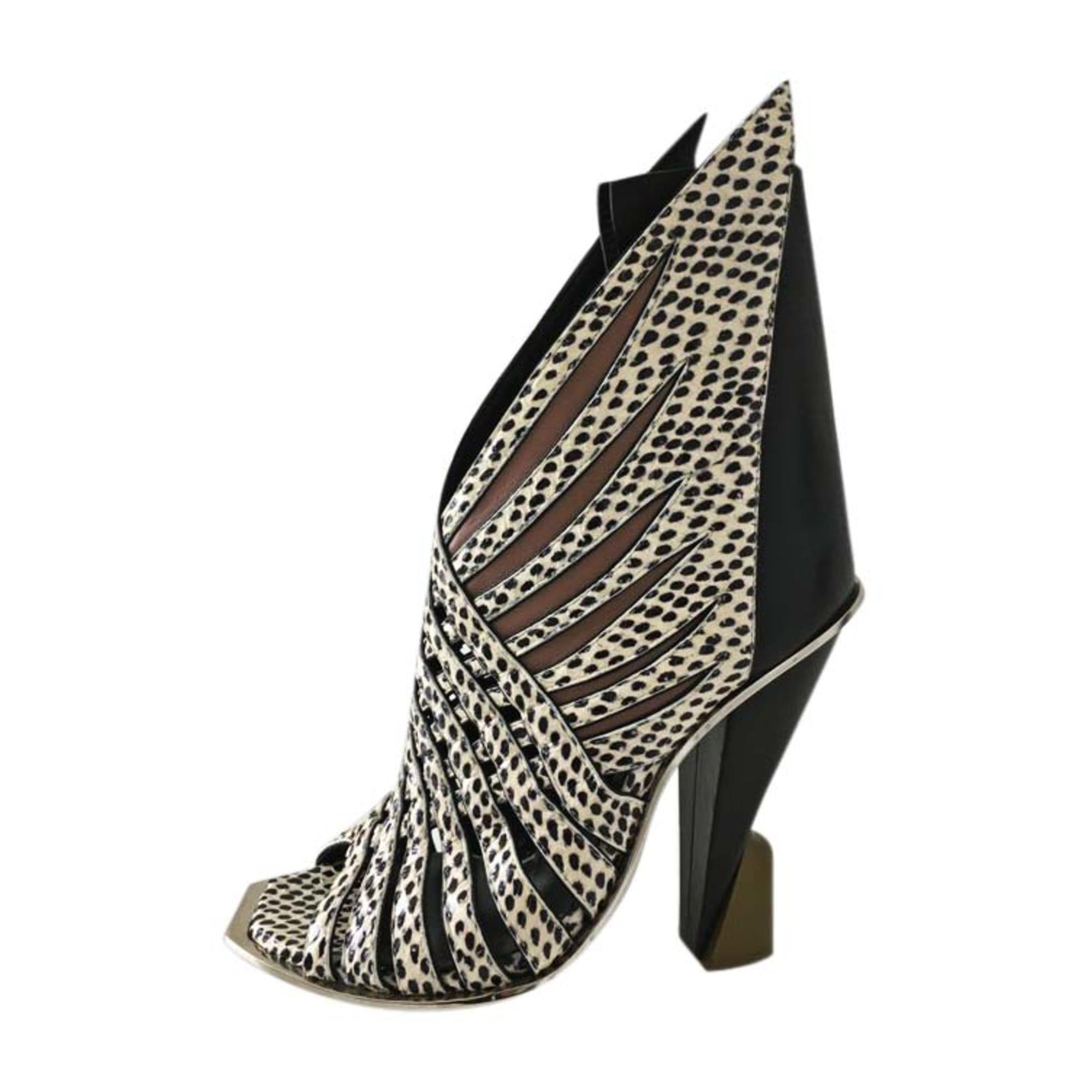 Heeled Sandals BALENCIAGA Black