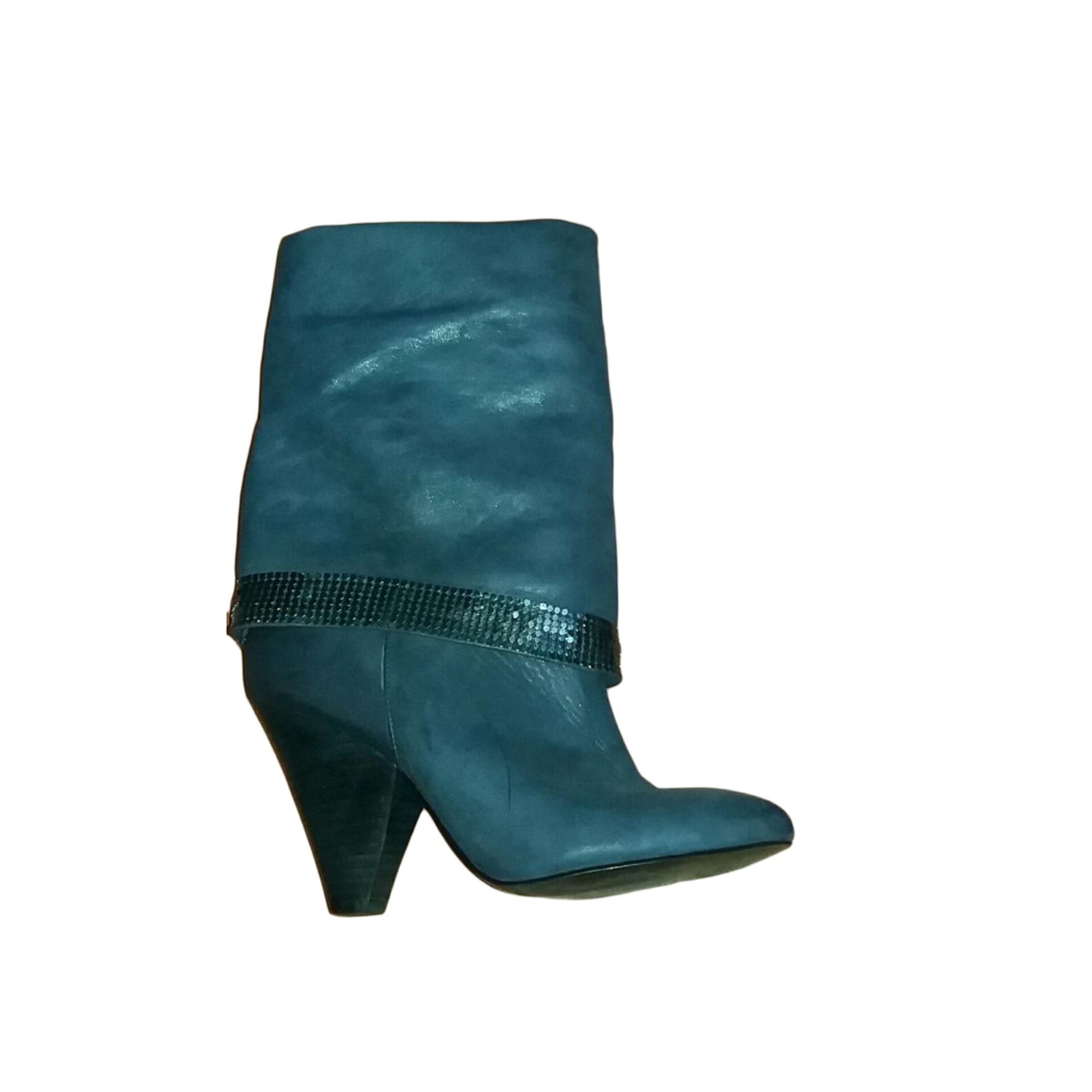 Bottes à talons GUESS Bleu, bleu marine, bleu turquoise