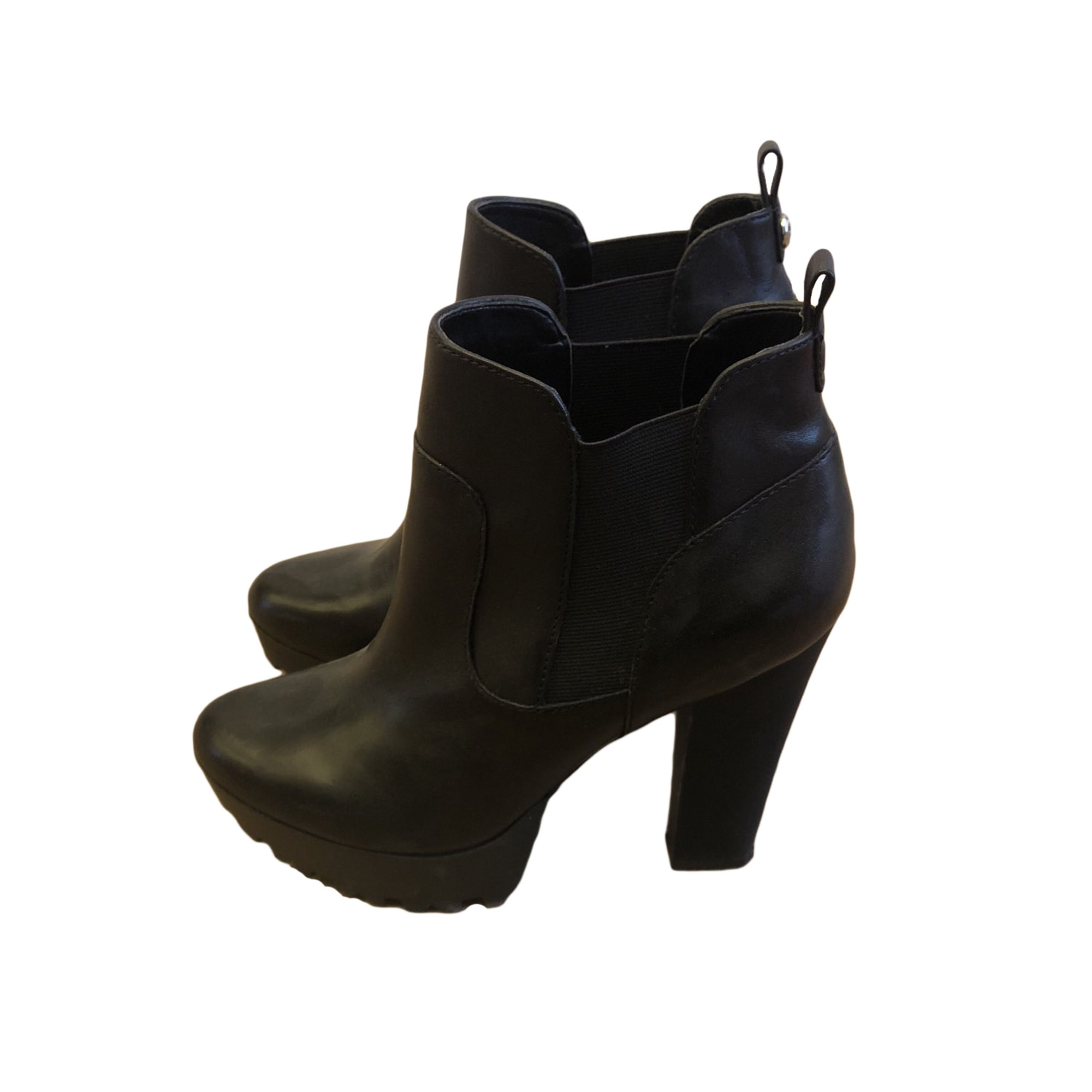 7954621 Noir 38 Guess Boots Bottines Low À Compensés amp; 8C4OqC