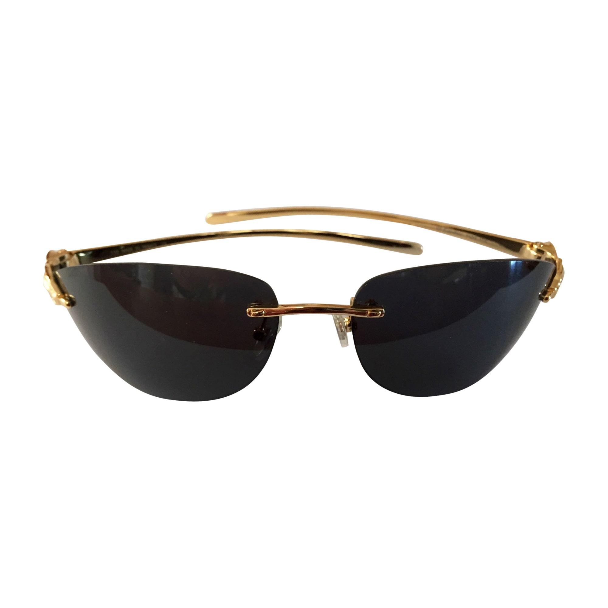 Lunettes de soleil CARTIER doré vendu par Didith - 7955177 93471d06fe18