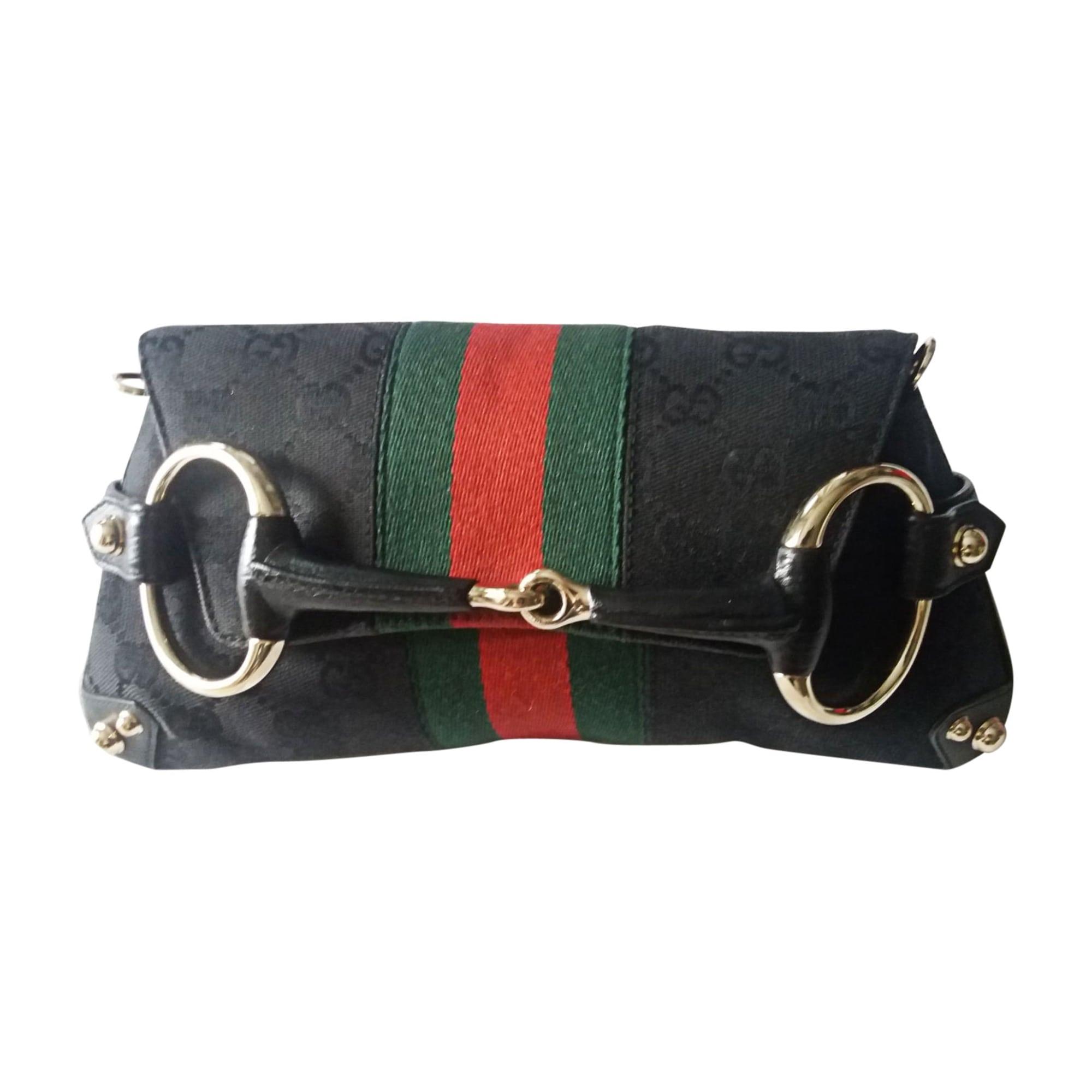 Sac pochette en cuir GUCCI indy noir vendu par France mode - 7960546 eb4f7607a54
