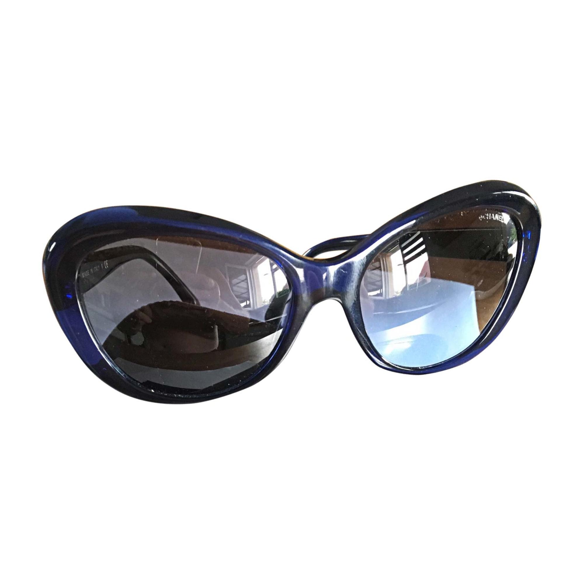 Lunettes de soleil CHANEL Bleu, bleu marine, bleu turquoise 9e17d45d5a0b
