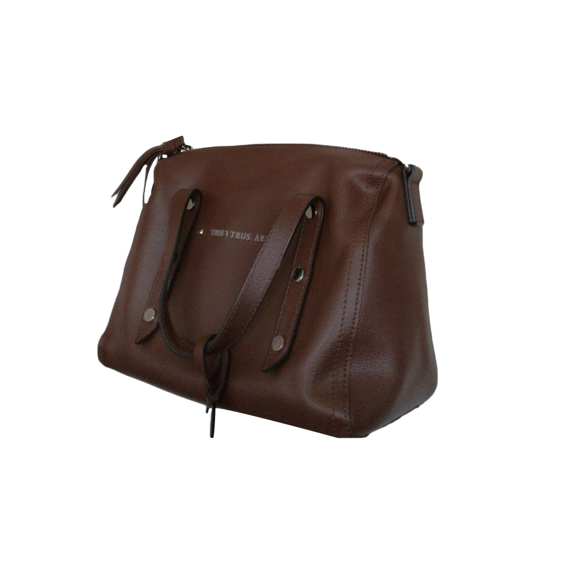 Bag Shoulder Bag Shoulder Leather Bag Leather Tru Shoulder Trussardi Trussardi Tru Tru Leather vz0FqwIa