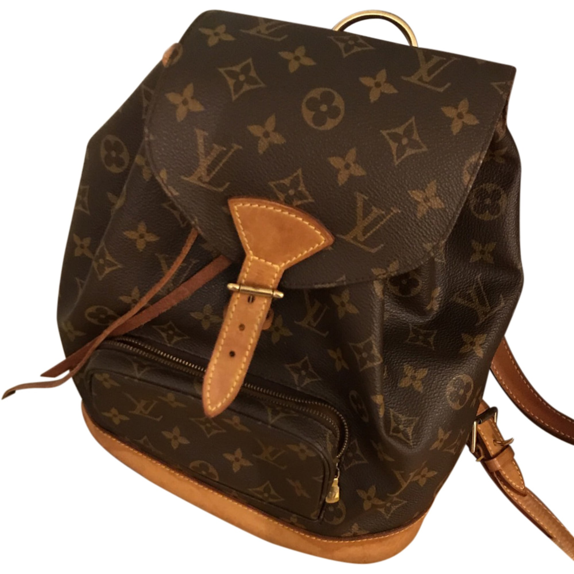 0917f0221492 Sac à dos LOUIS VUITTON beige - 7966975
