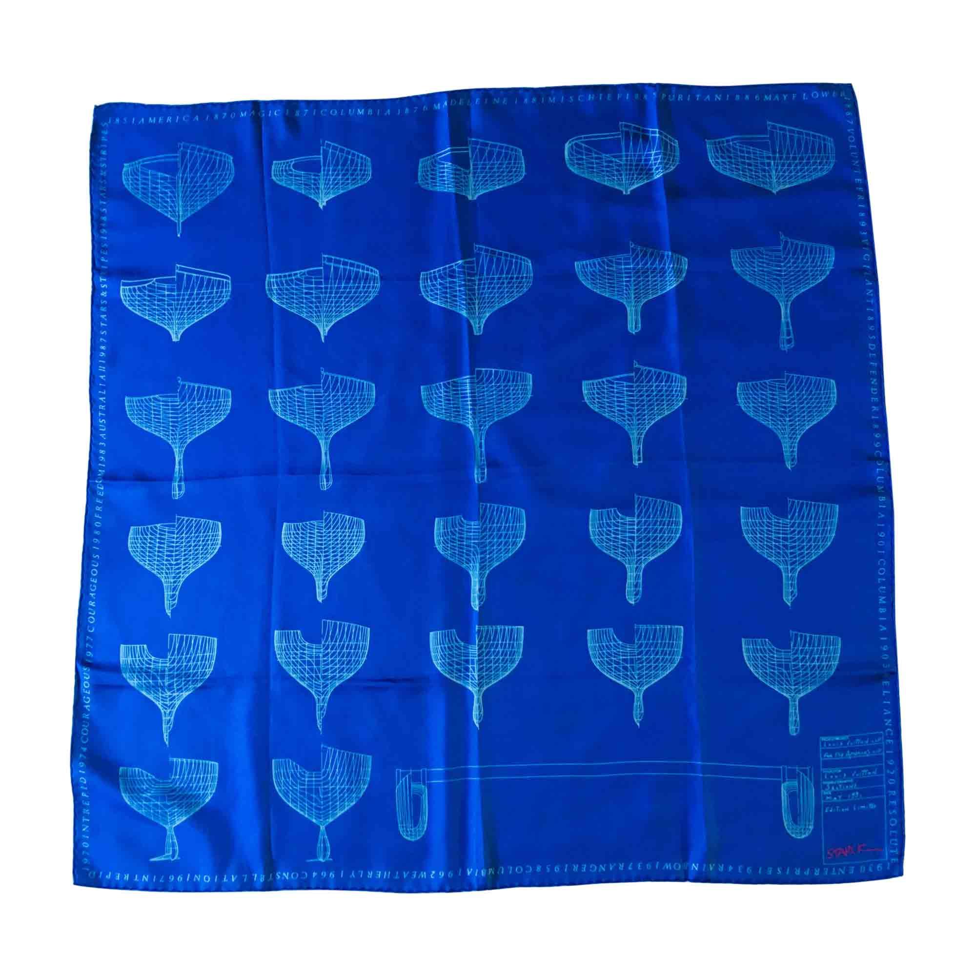 Foulard LOUIS VUITTON Bleu, bleu marine, bleu turquoise 5d99c26c5b3