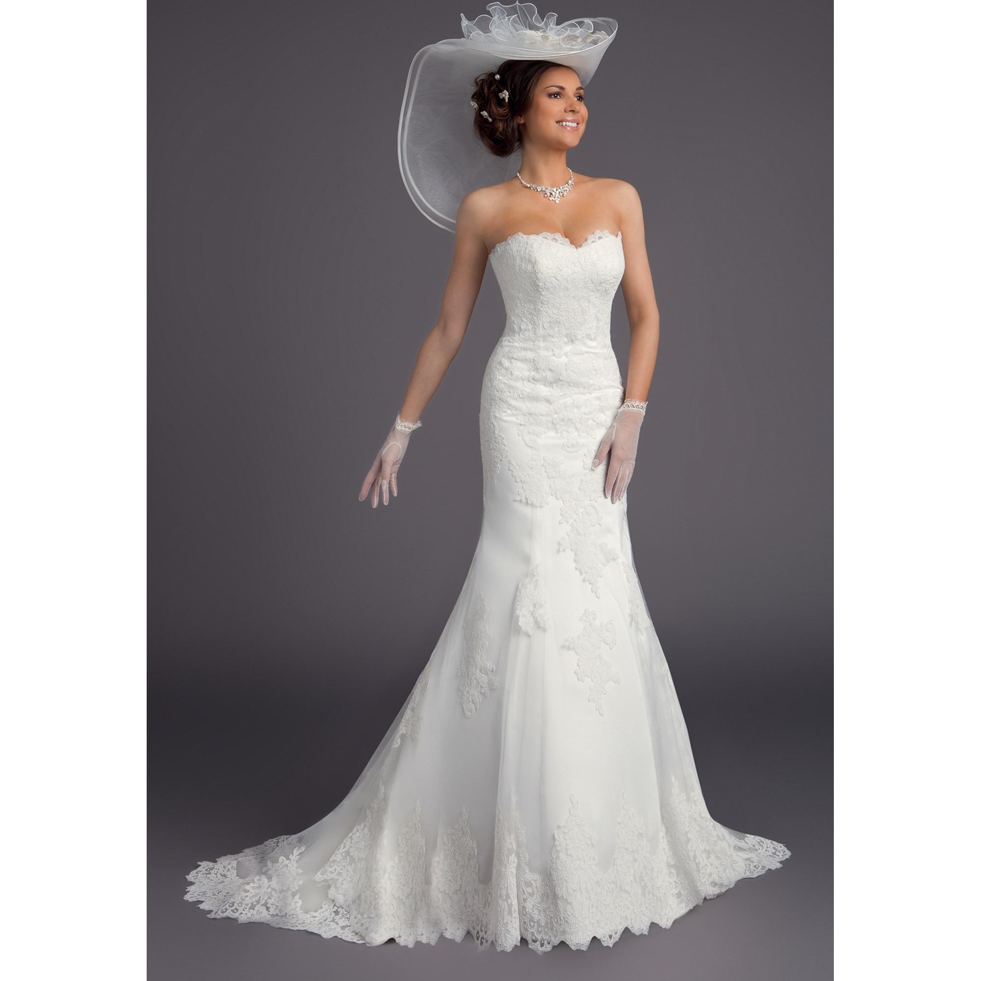 b882da8e3b Robe de mariée BELLA CRÉATION 42 (L/XL, T4) blanc - 7968635