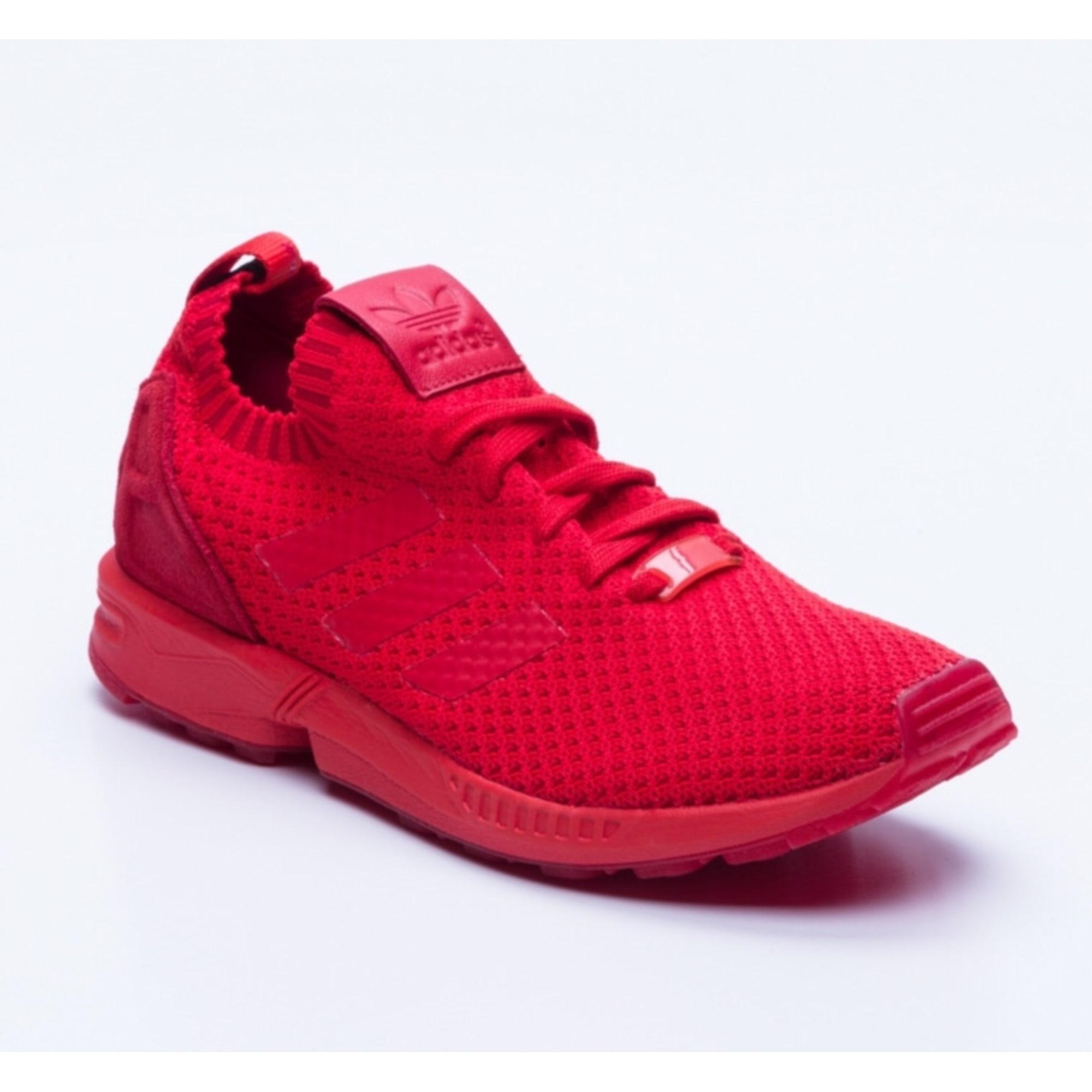 adidas zx flux rouge bordeaux