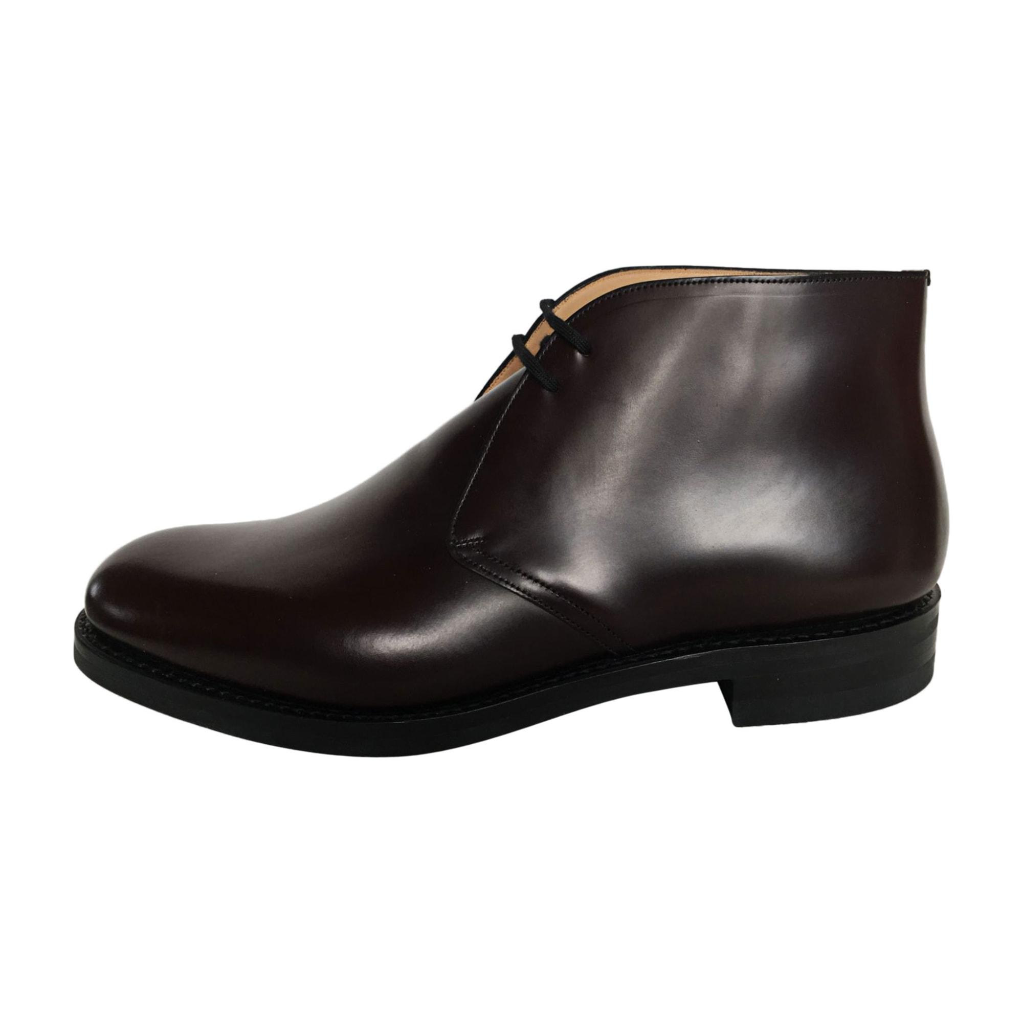 Chaussures à lacets CHURCH'S Rouge, bordeaux