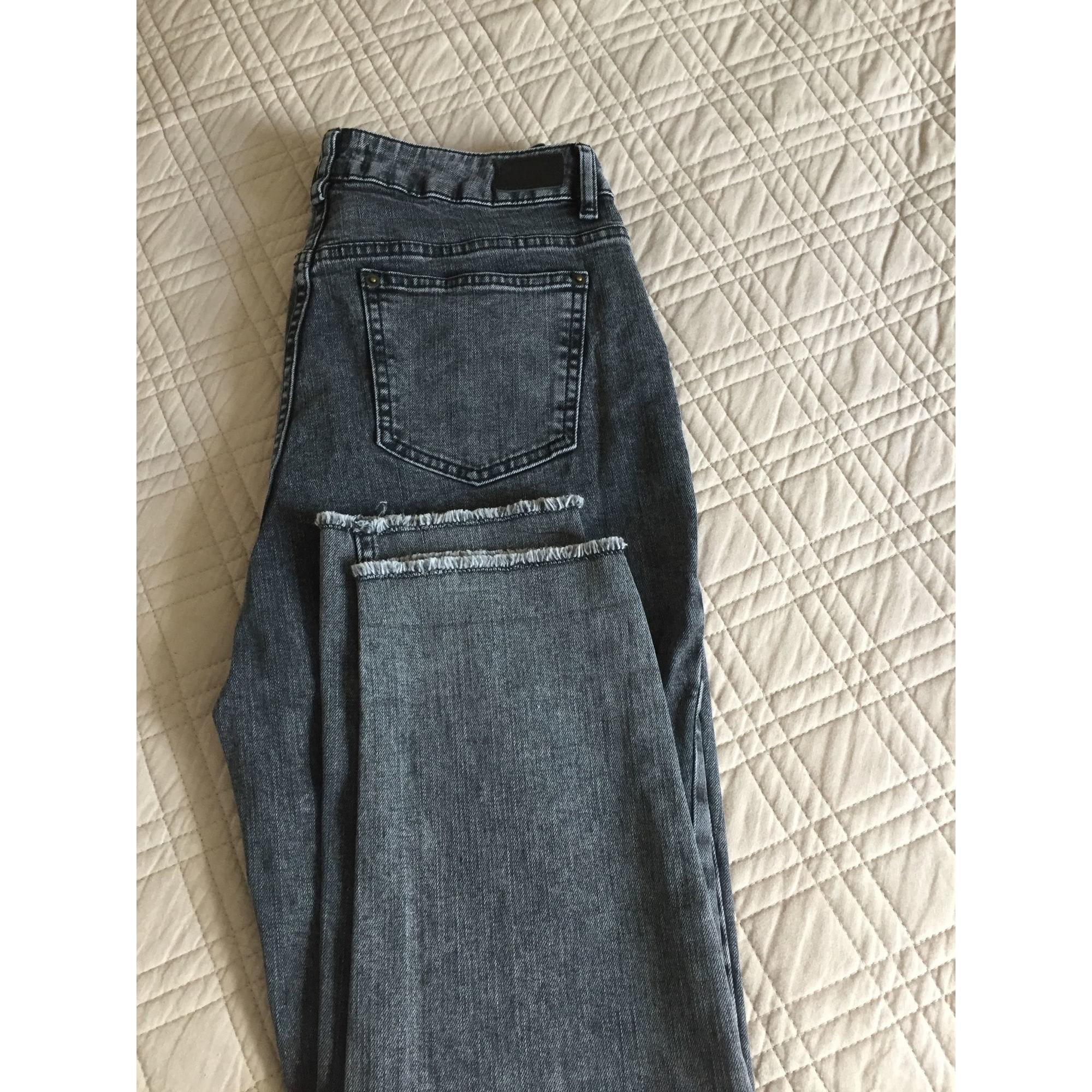 Jeans large, boyfriend LA REDOUTE Gris, anthracite