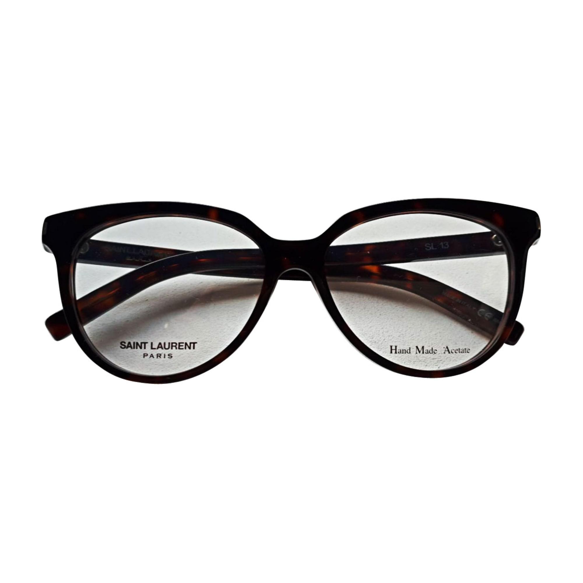 f7097fae42a711 Monture de lunettes SAINT LAURENT marron vendu par Celine35 - 7978363