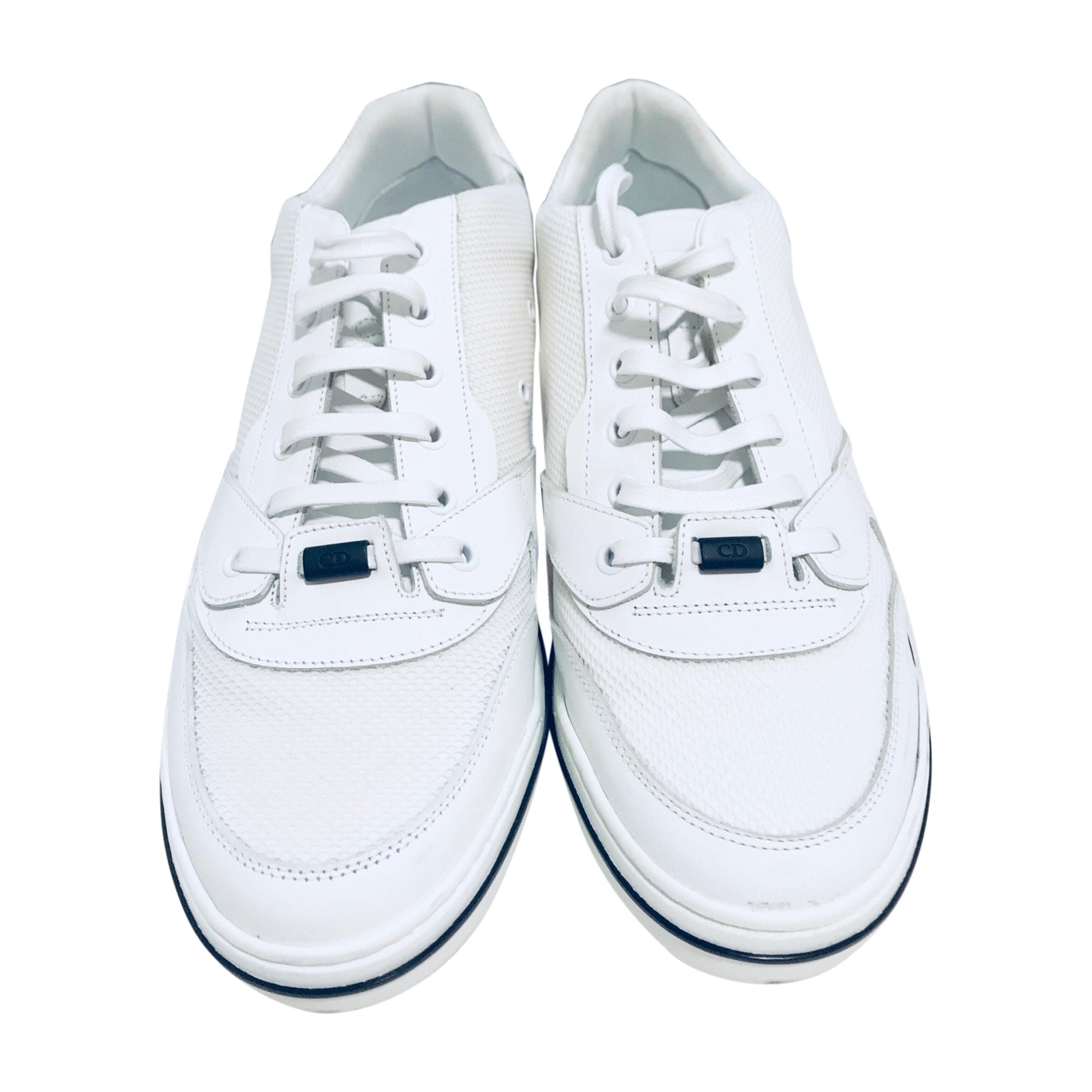 Baskets DIOR HOMME Blanc, blanc cassé, écru e4d03c64711