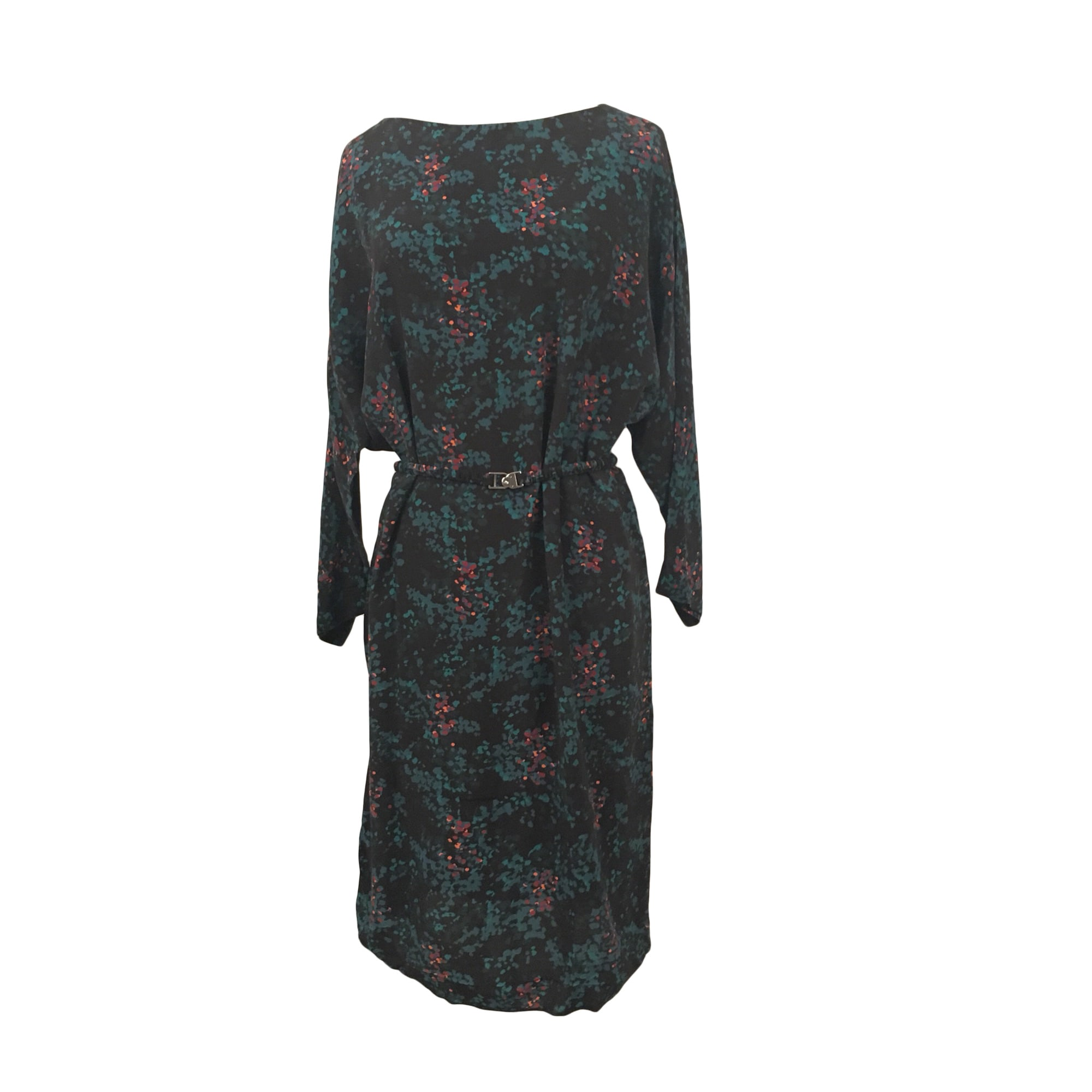 Midi Dress TARA JARMON Blue, navy, turquoise