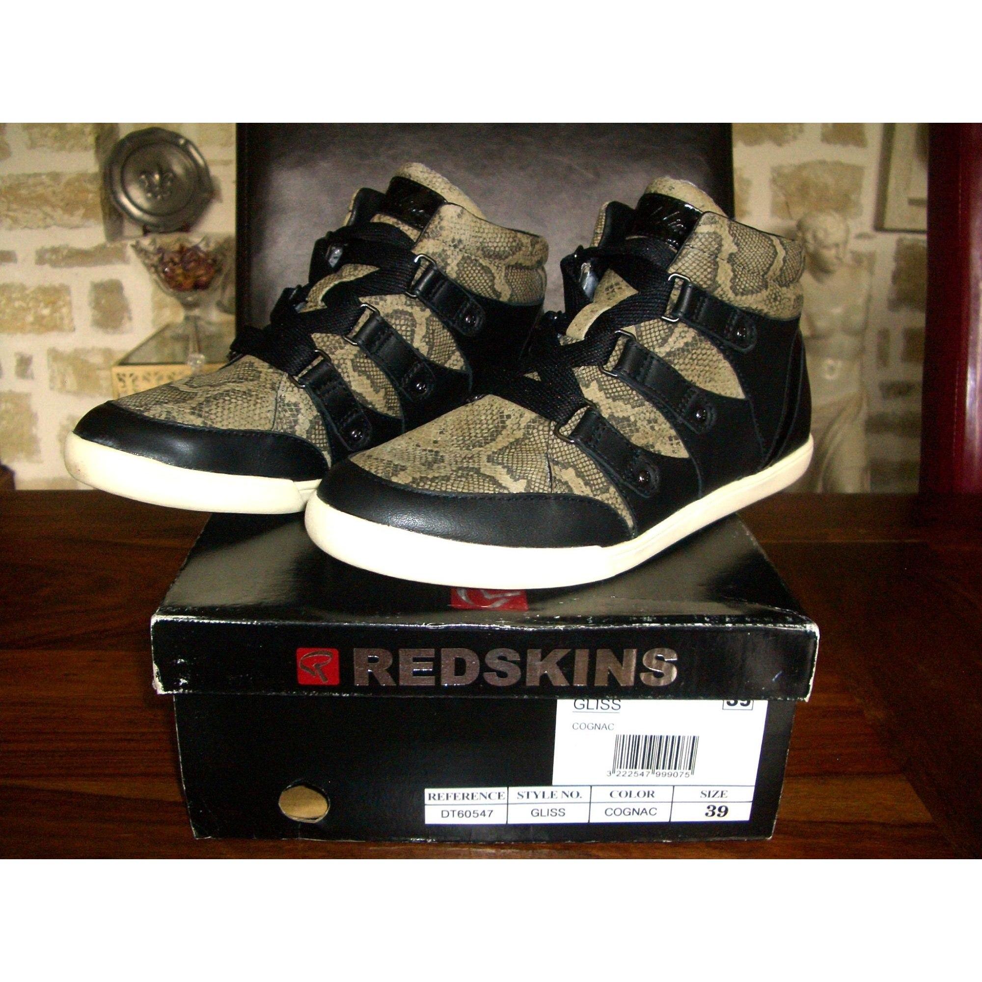 5af85c9dfcf Baskets REDSKINS 39 noir - 7982842