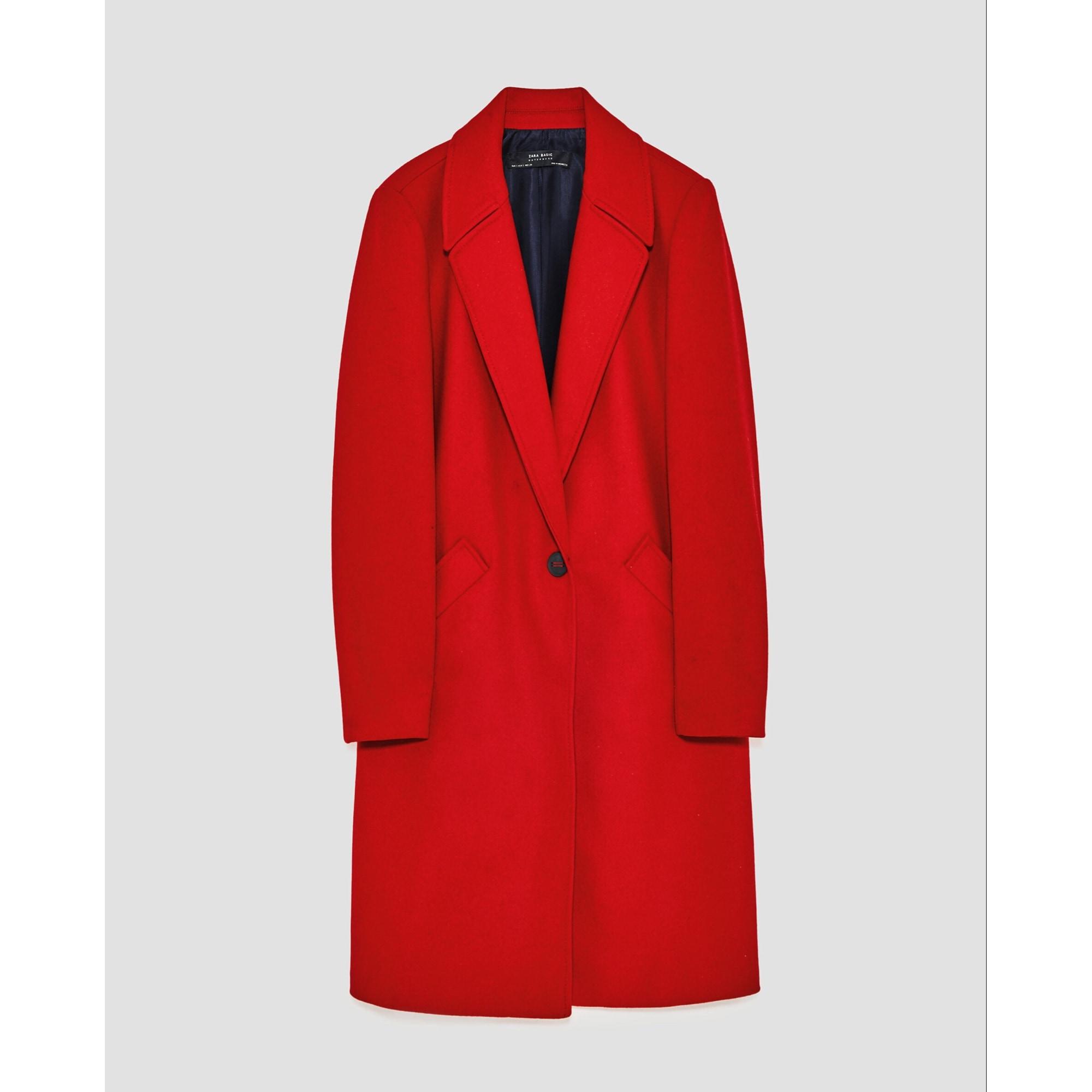 tailleur zara manteau rouge zara rouge tailleur tailleur manteau manteau lK351uTFcJ