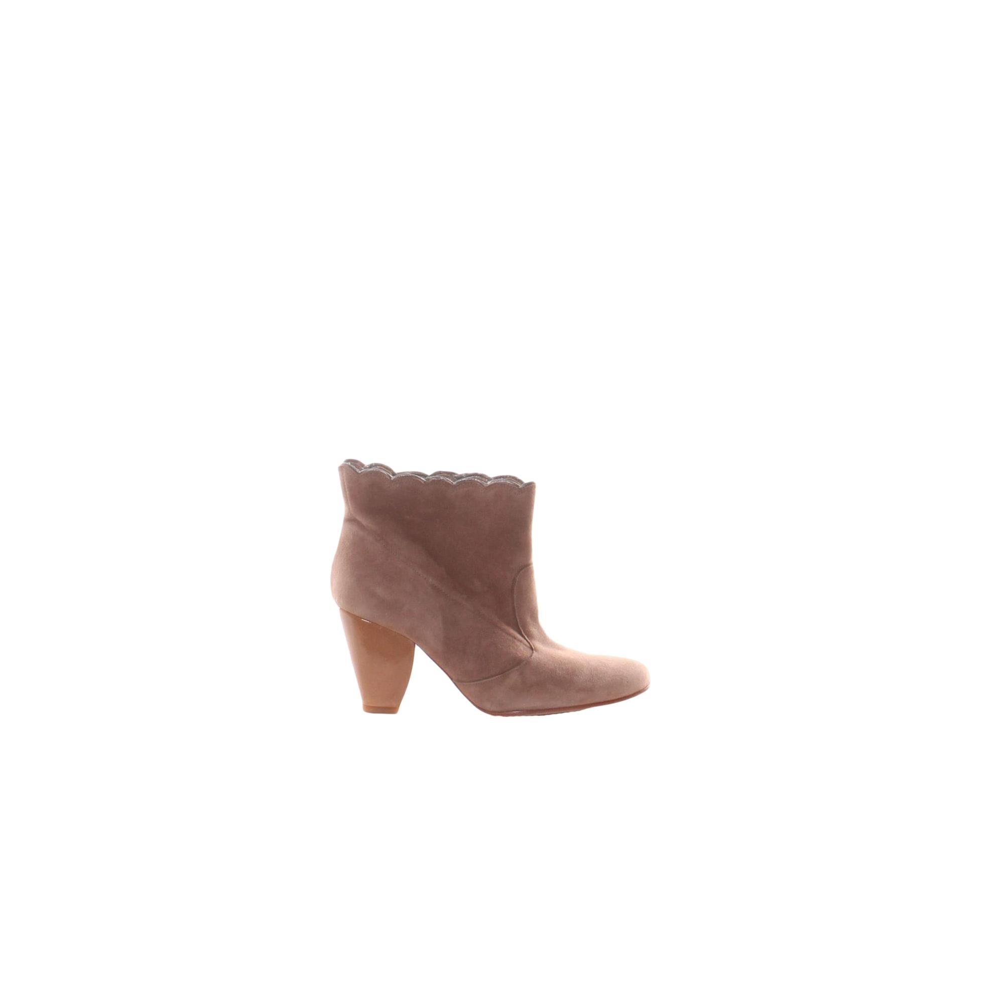 Bottines & low boots à talons TARA JARMON Marron