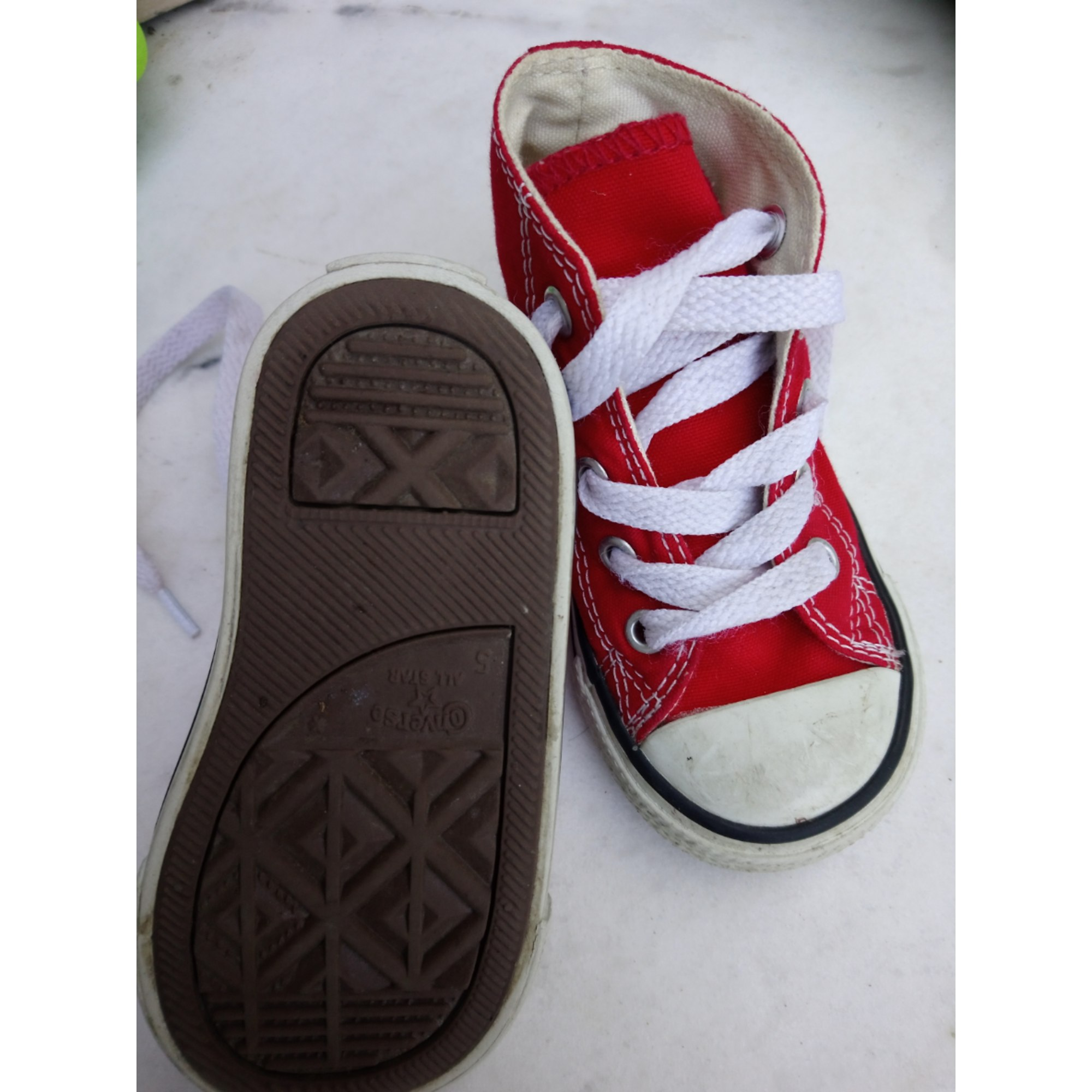 converse rouge 21