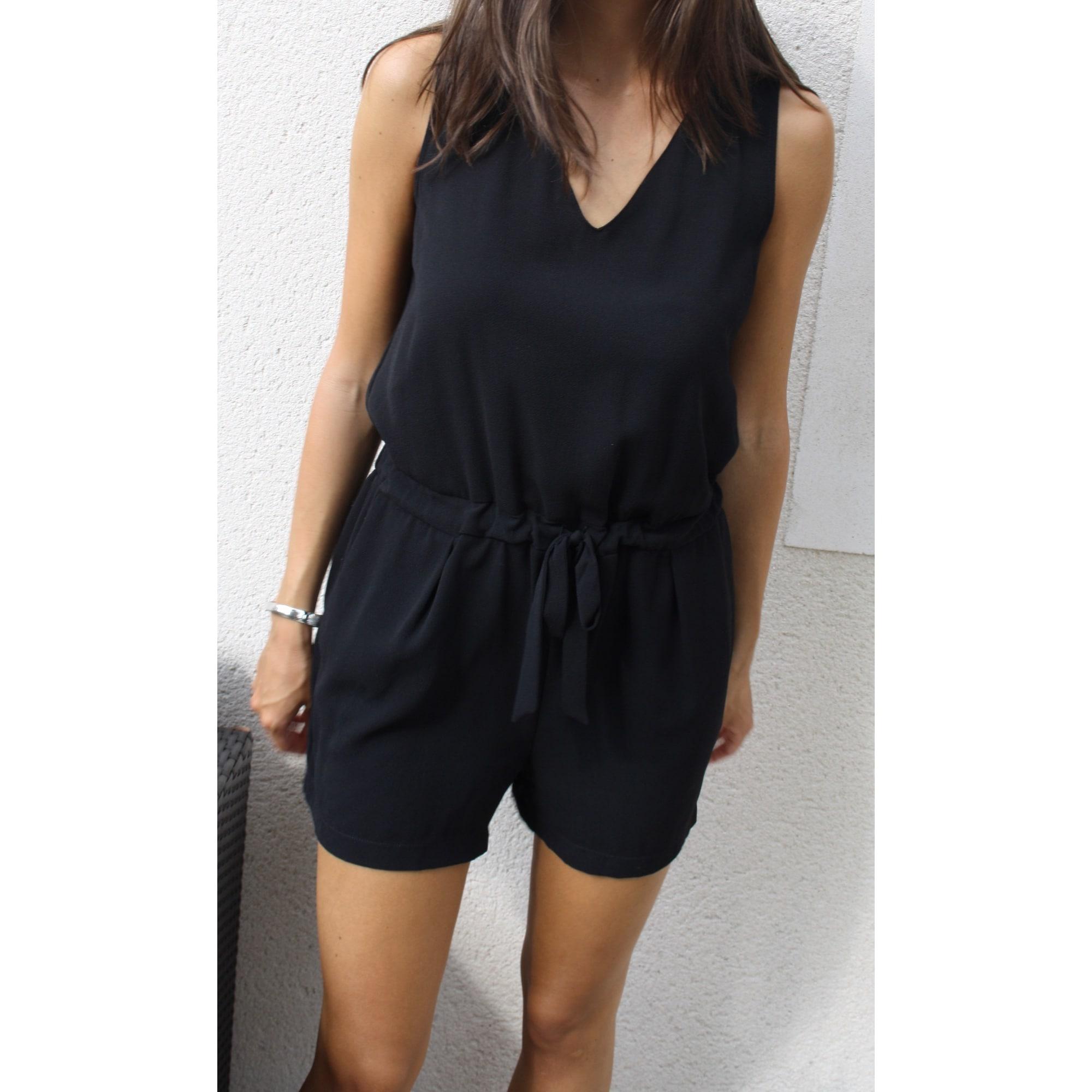 Femme Combinaison Short Jeans Combinaison Zara R4jA35L