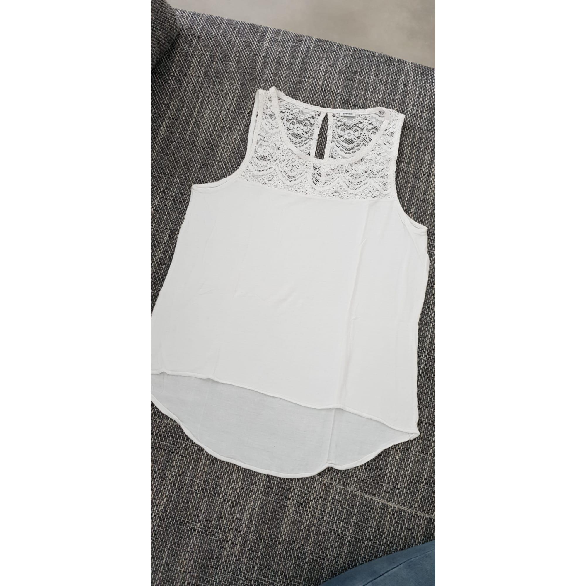 Débardeur PIMKIE 36 (S, T1) blanc - 79934