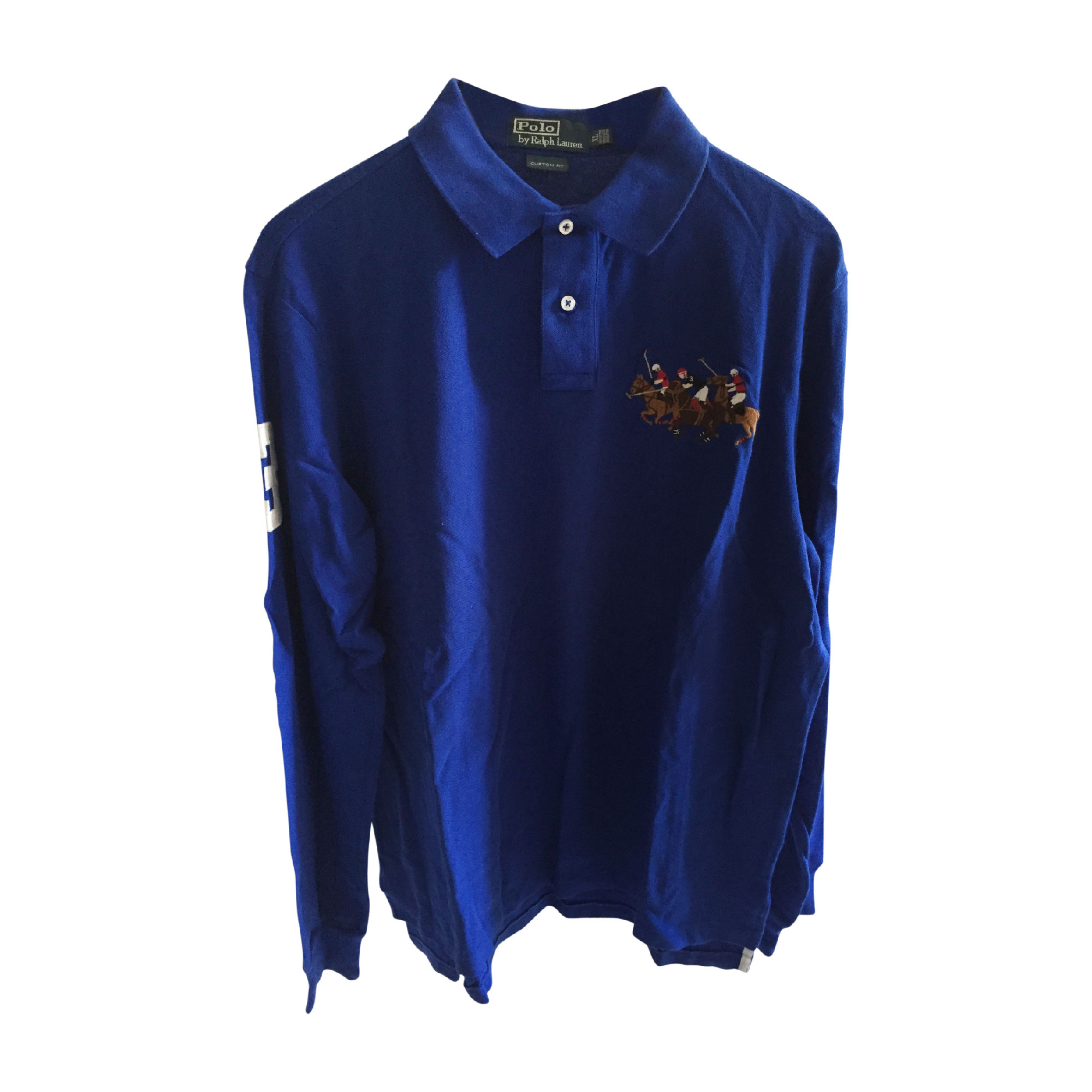 ed19c6489364 Polo RALPH LAUREN 4 (XL) bleu vendu par Bonbon julie - 7993439