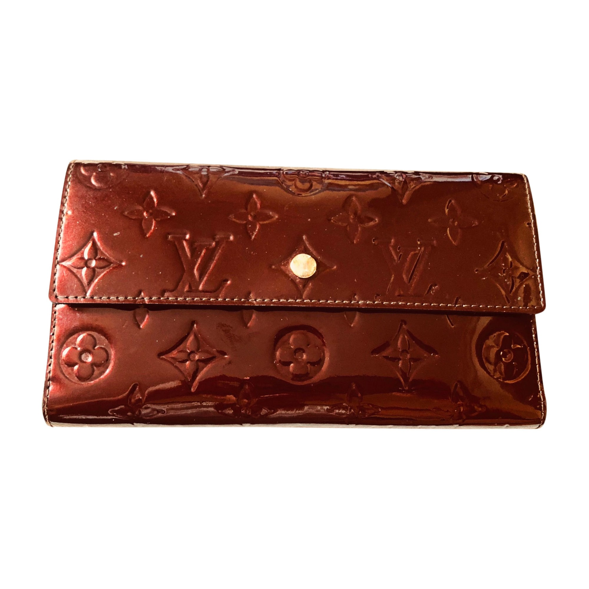 Portefeuille LOUIS VUITTON marron - 7993815 d34cacb1c90