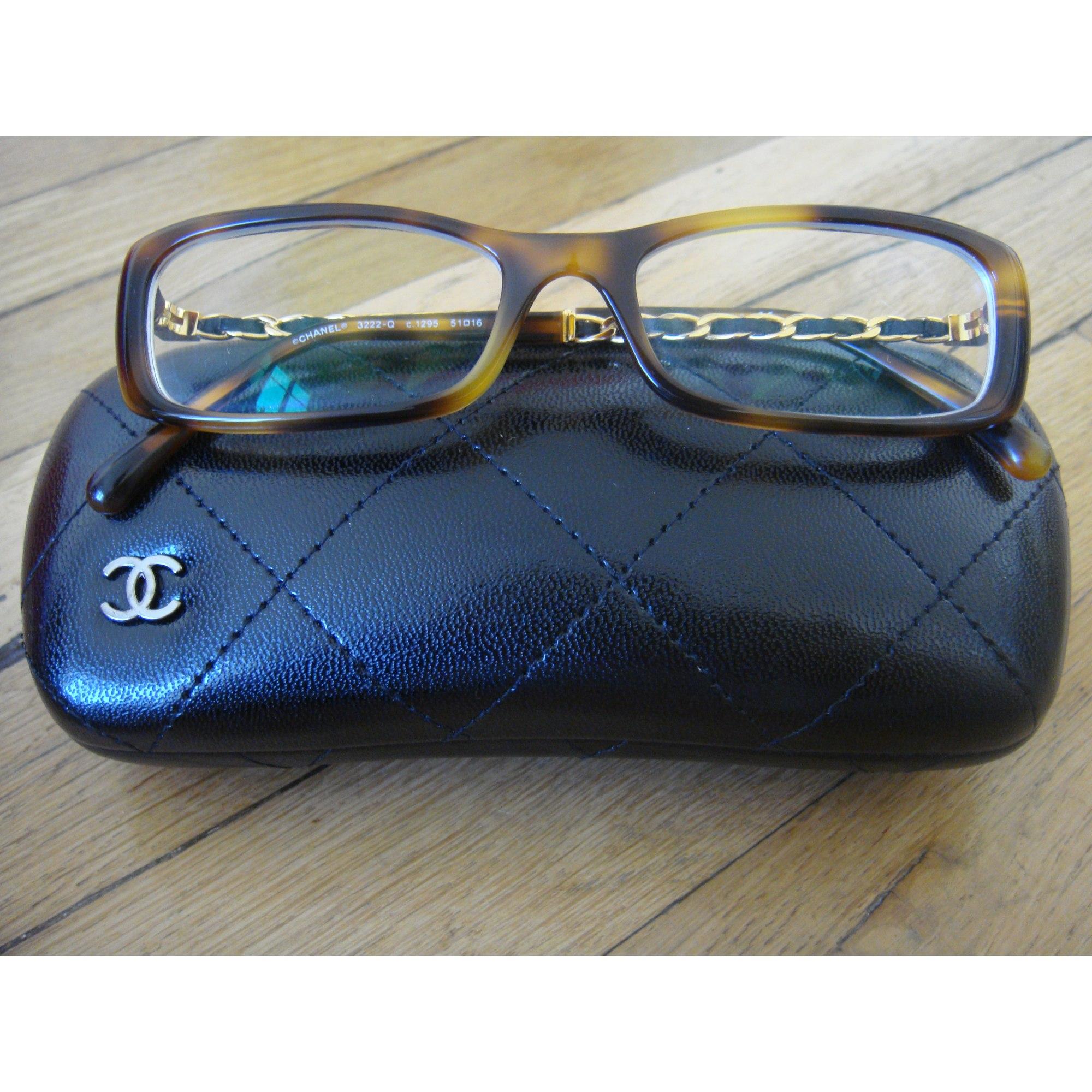 e1ea008d6786a0 Monture de lunettes CHANEL light havana vendu par Blush-a-boo123436 ...