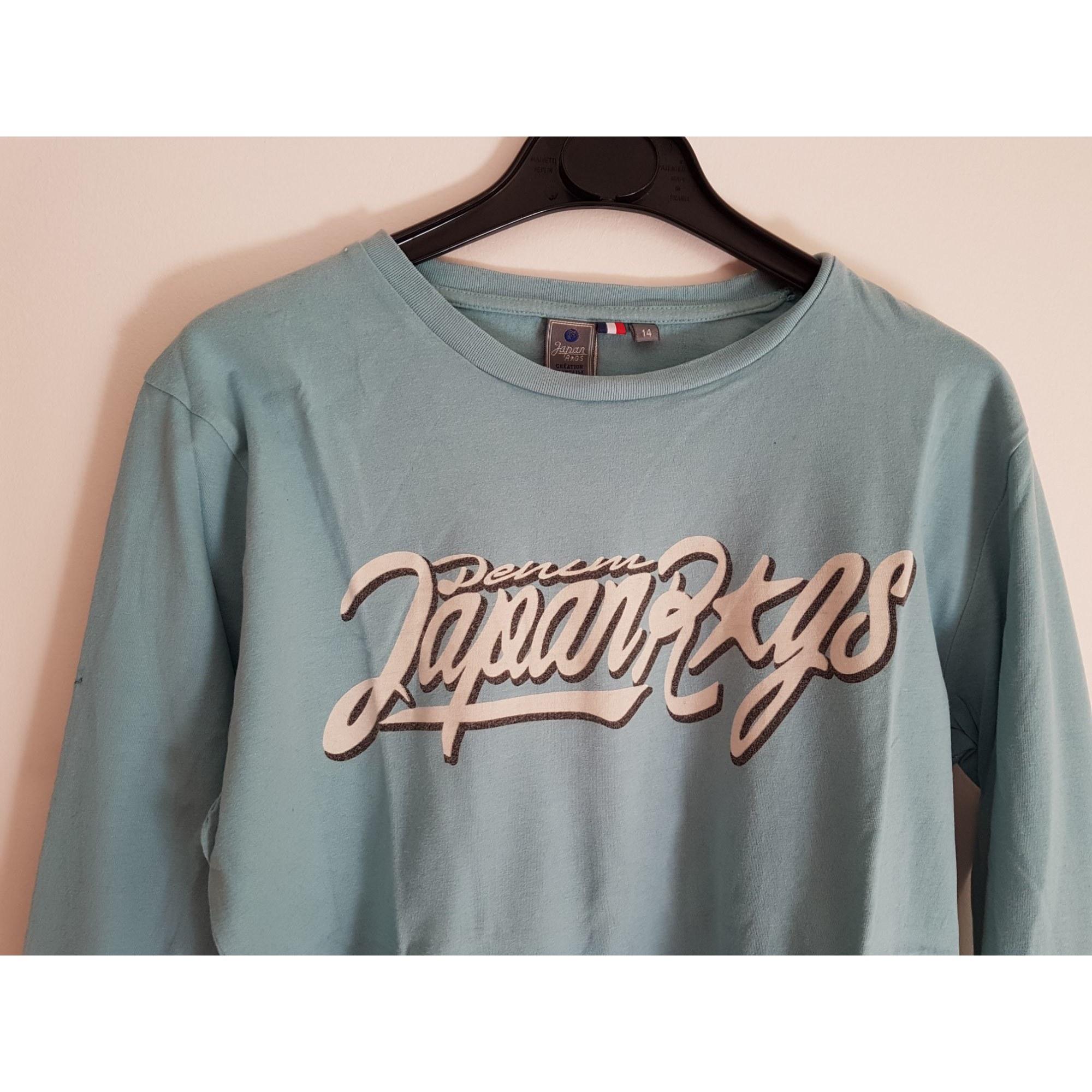 fcc138dce8b31 Tee-shirt JAPAN RAGS 13-14 ans bleu vendu par Vdveronique77 - 7996437