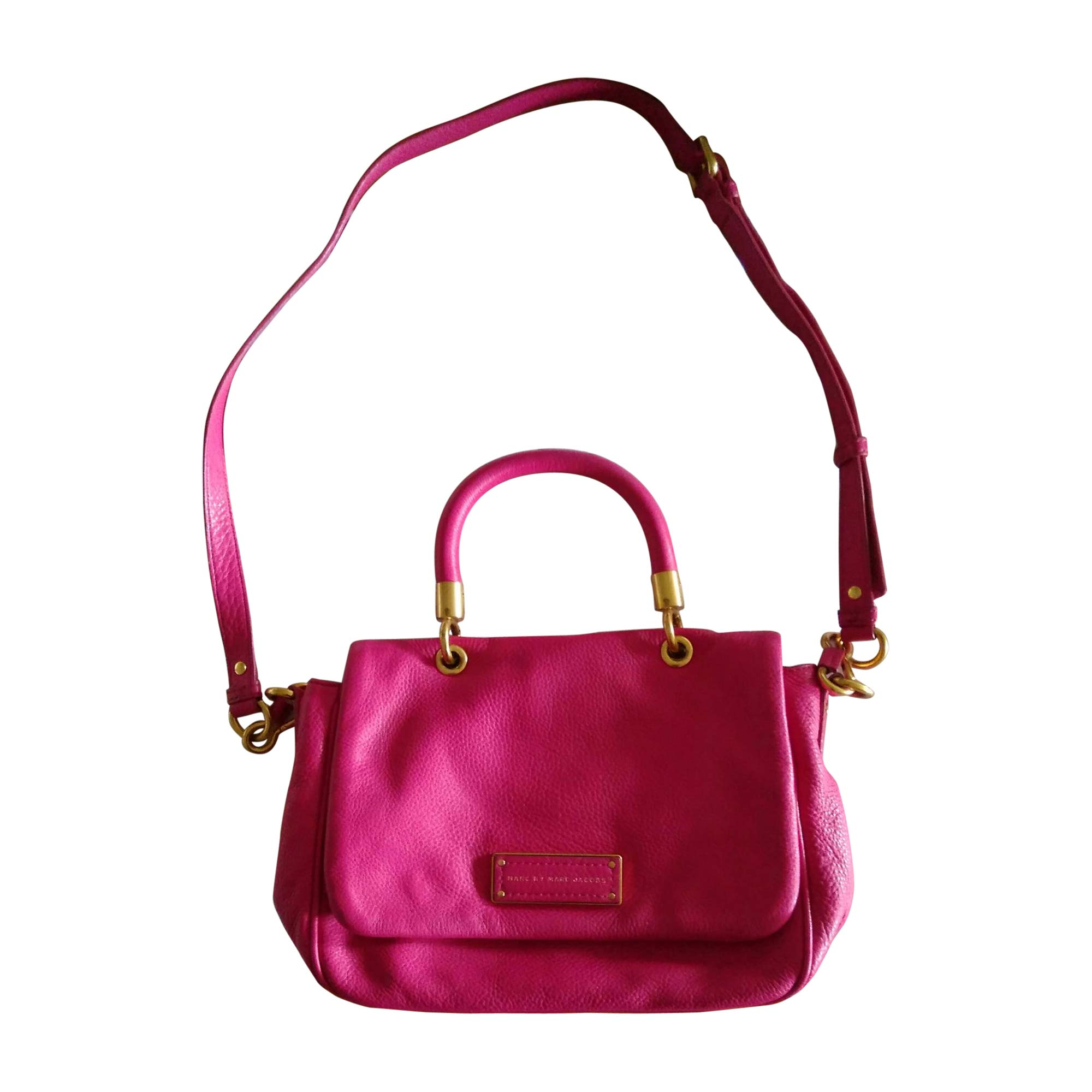 7997921 Cuir À En Rose Main Jacobs Sac Marc kiwOZuTXlP