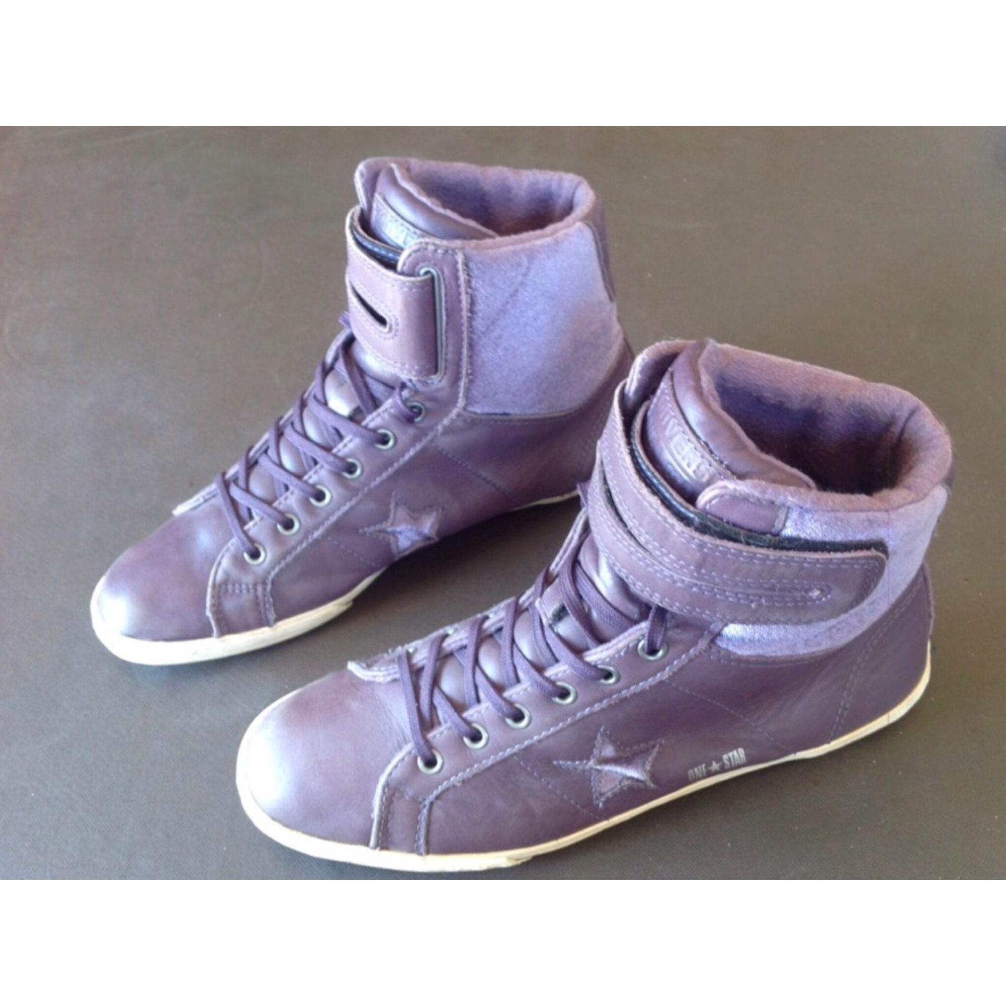 converse femme violet lavande 38