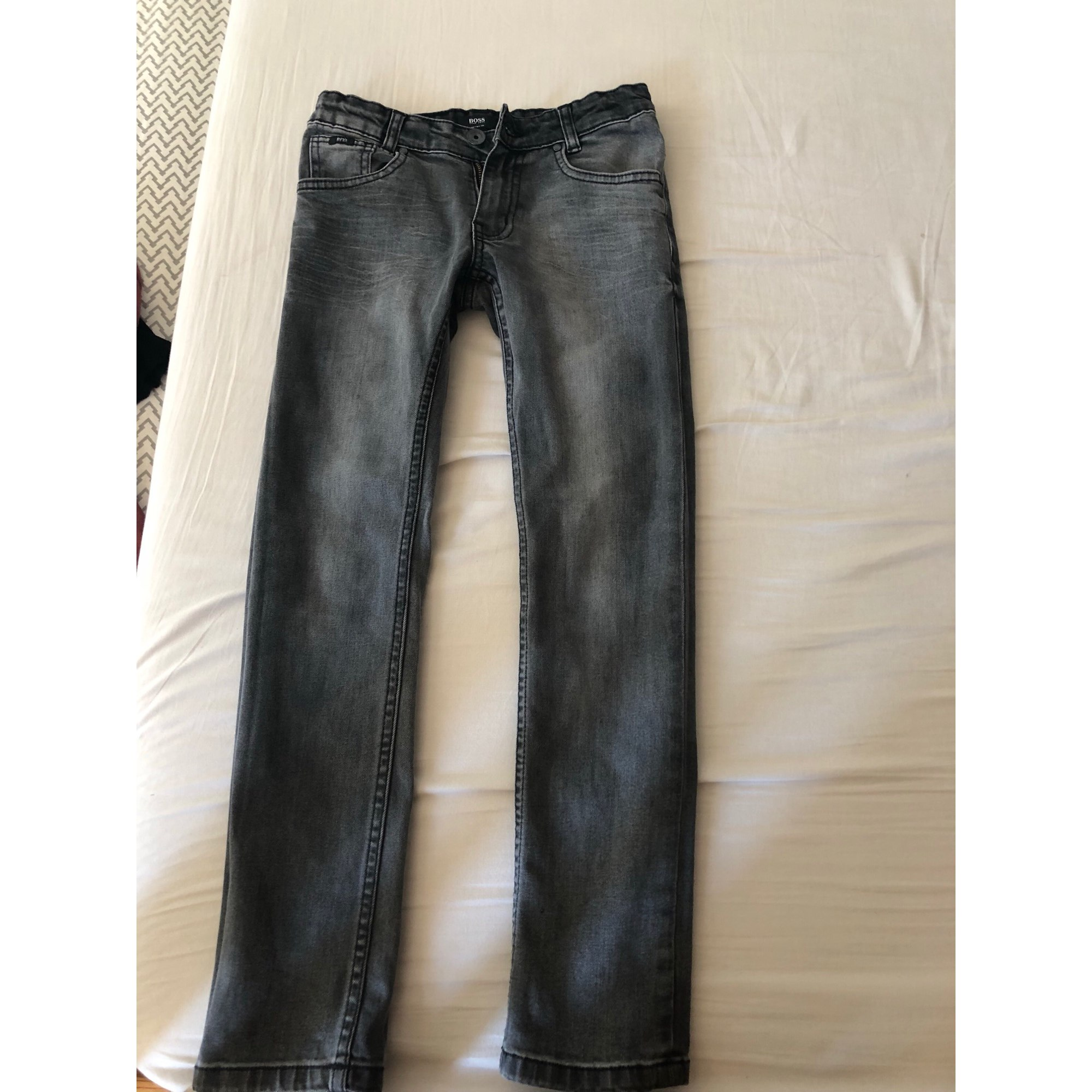 36c799af51 Pantalon HUGO BOSS 9-10 ans gris - 8006024