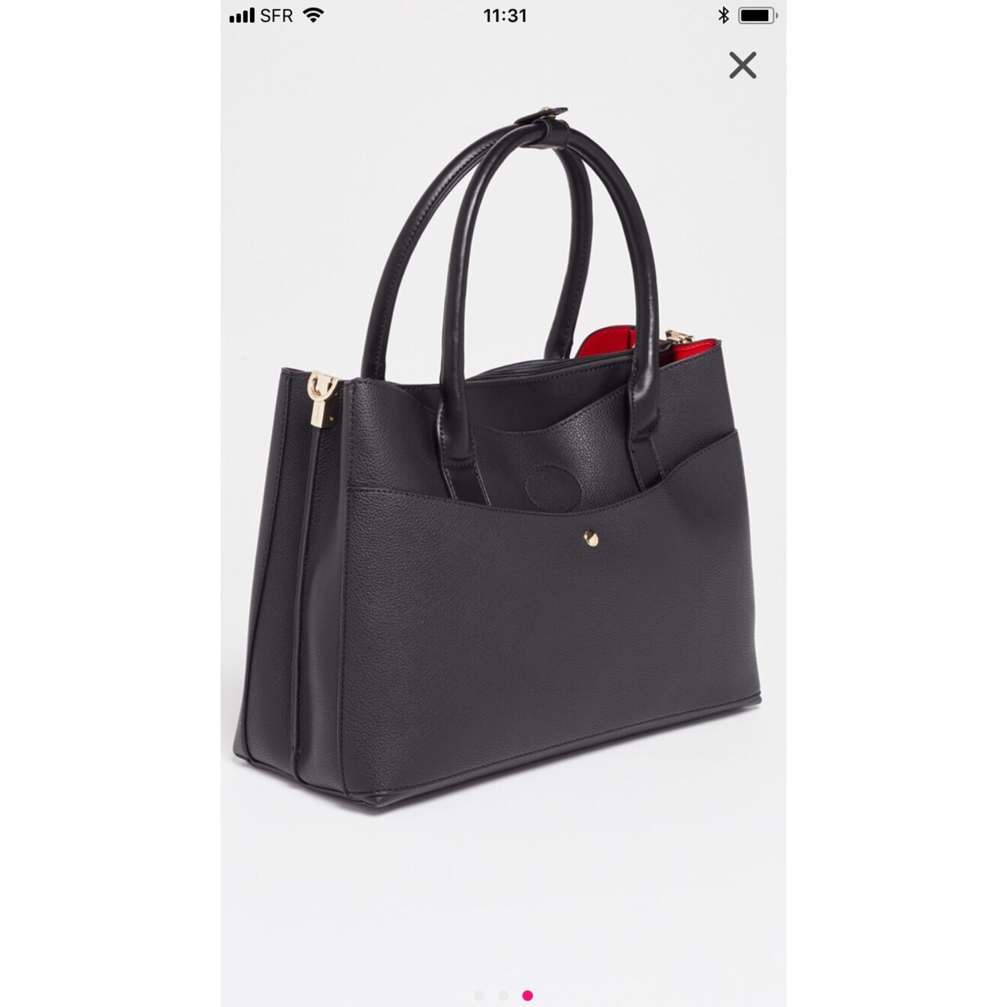 detailed look website for discount sale online Sac à main en cuir CÉLINE DION