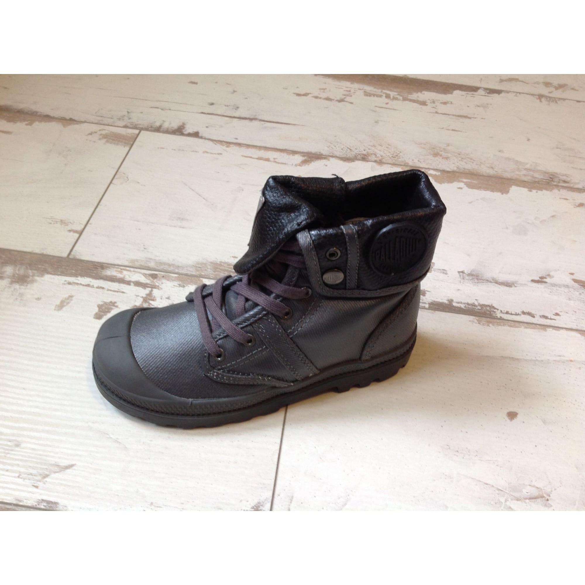 30 Gris Chaussures À Palladium Lacets 8010314 xwP8CT
