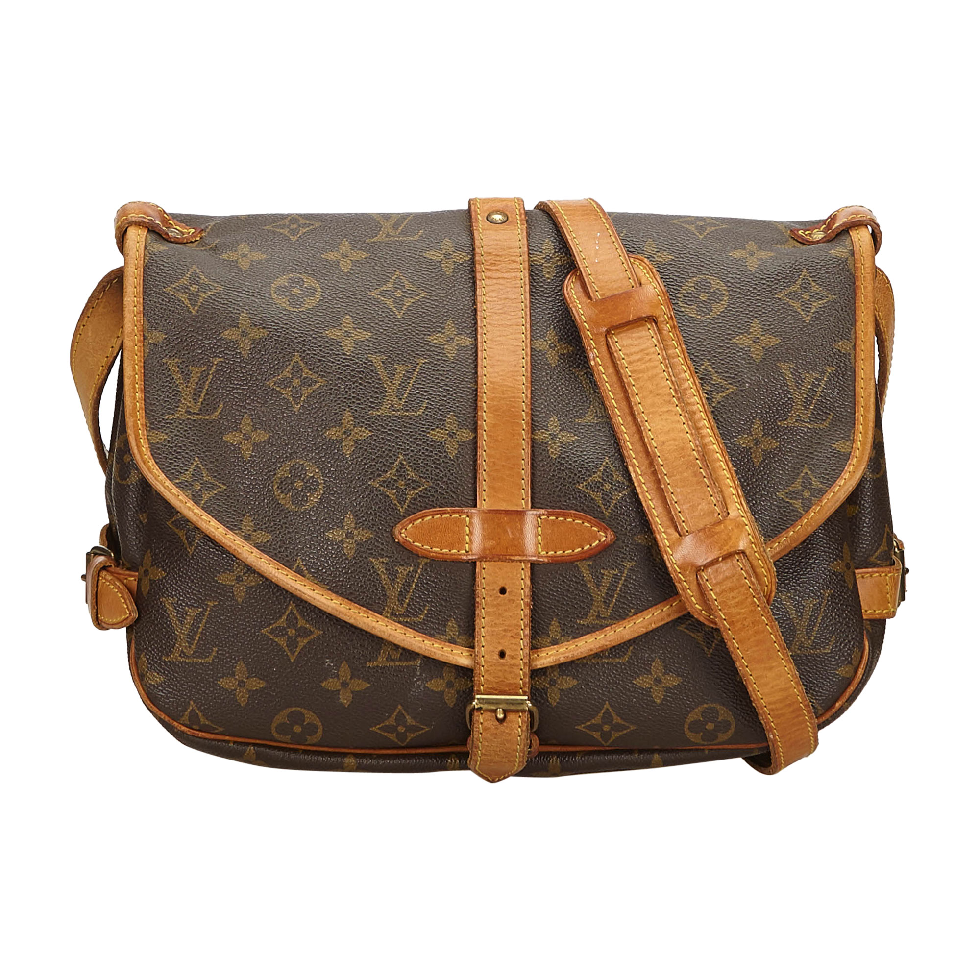 Sac en bandoulière en cuir LOUIS VUITTON brown - 8015826 e1cb6cb7112