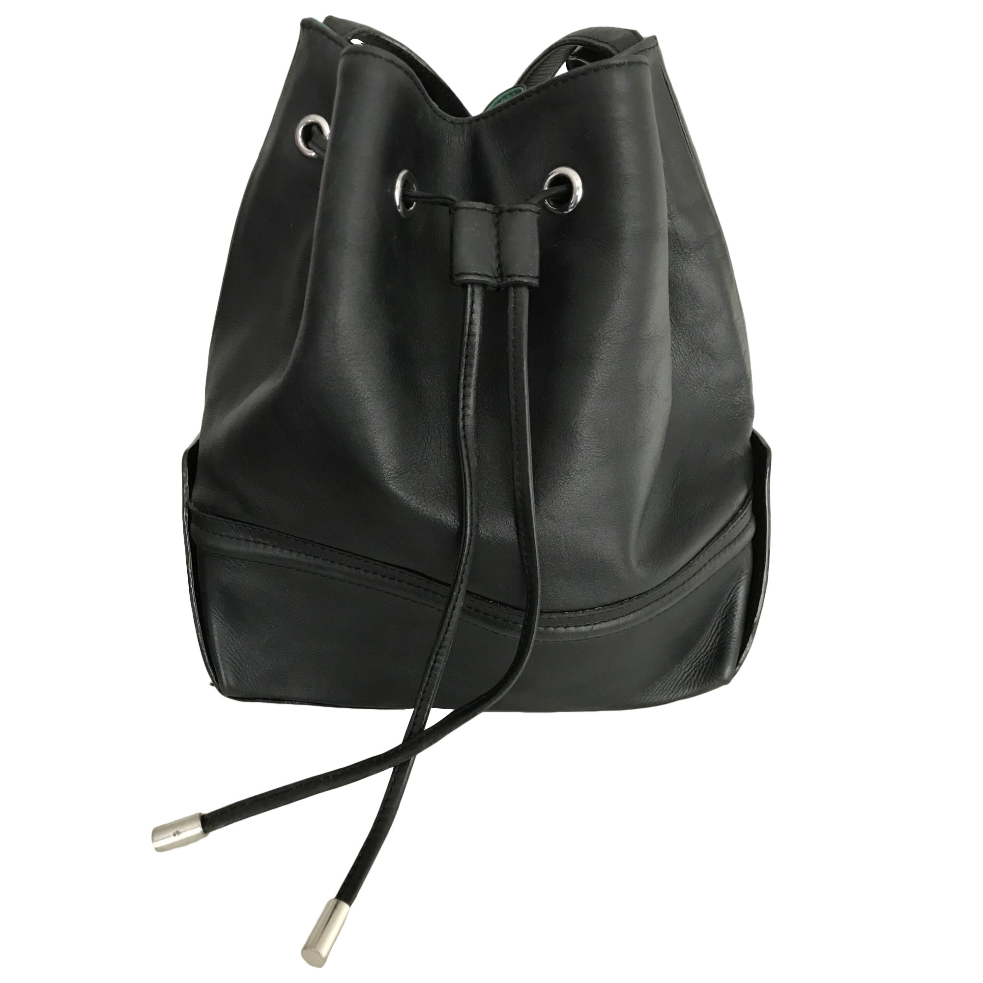 Leather Shoulder Bag CLAUDIE PIERLOT Black