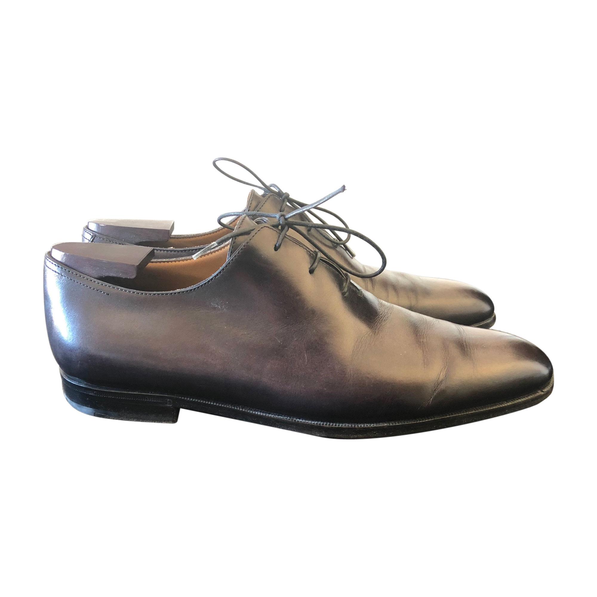 ced08d1d11dc Chaussures à lacets BERLUTI 42 noir vendu par Valman - 8023797