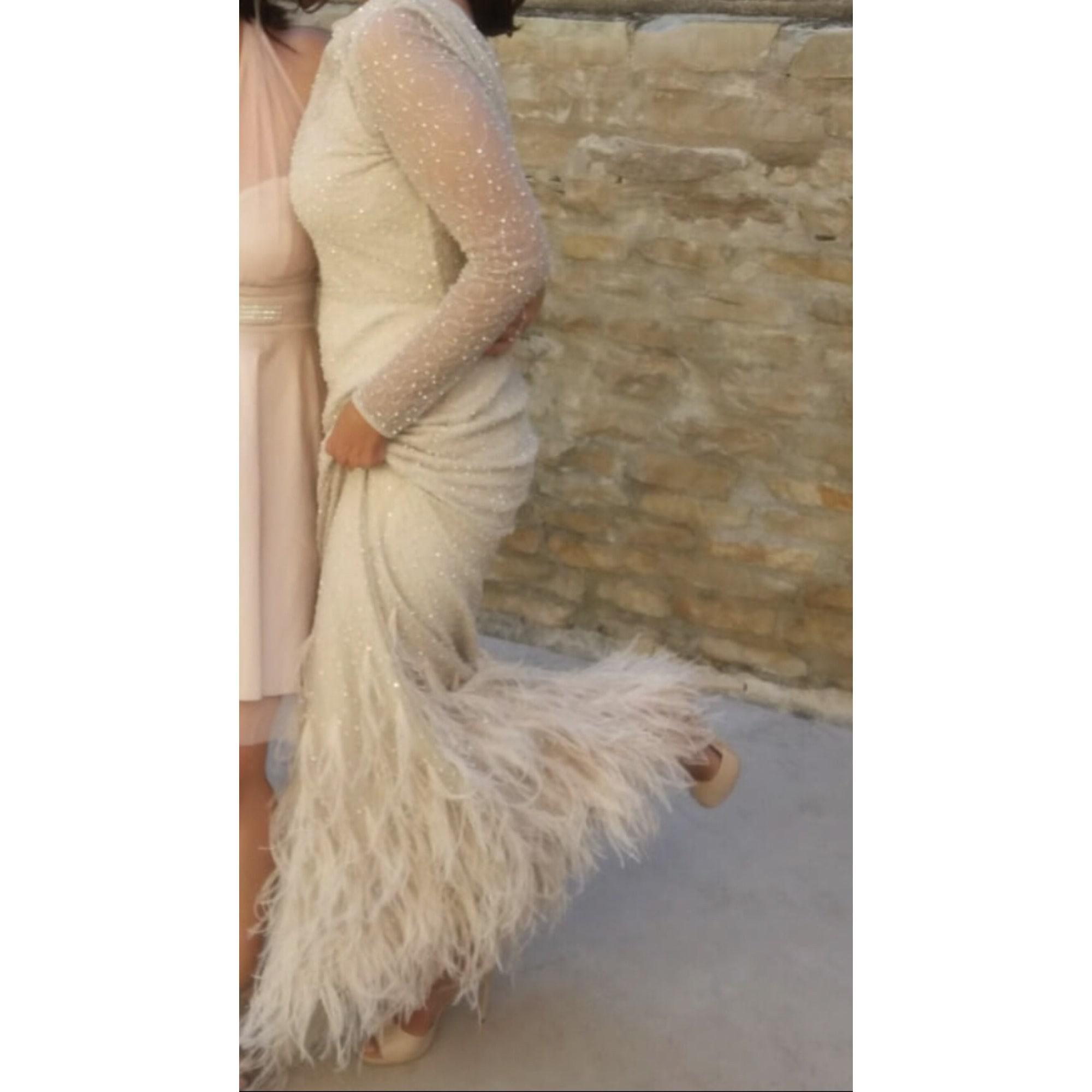 Robe de mariée MAX MARA 36 (S, T1) rose - 8026428 f0640e2c555