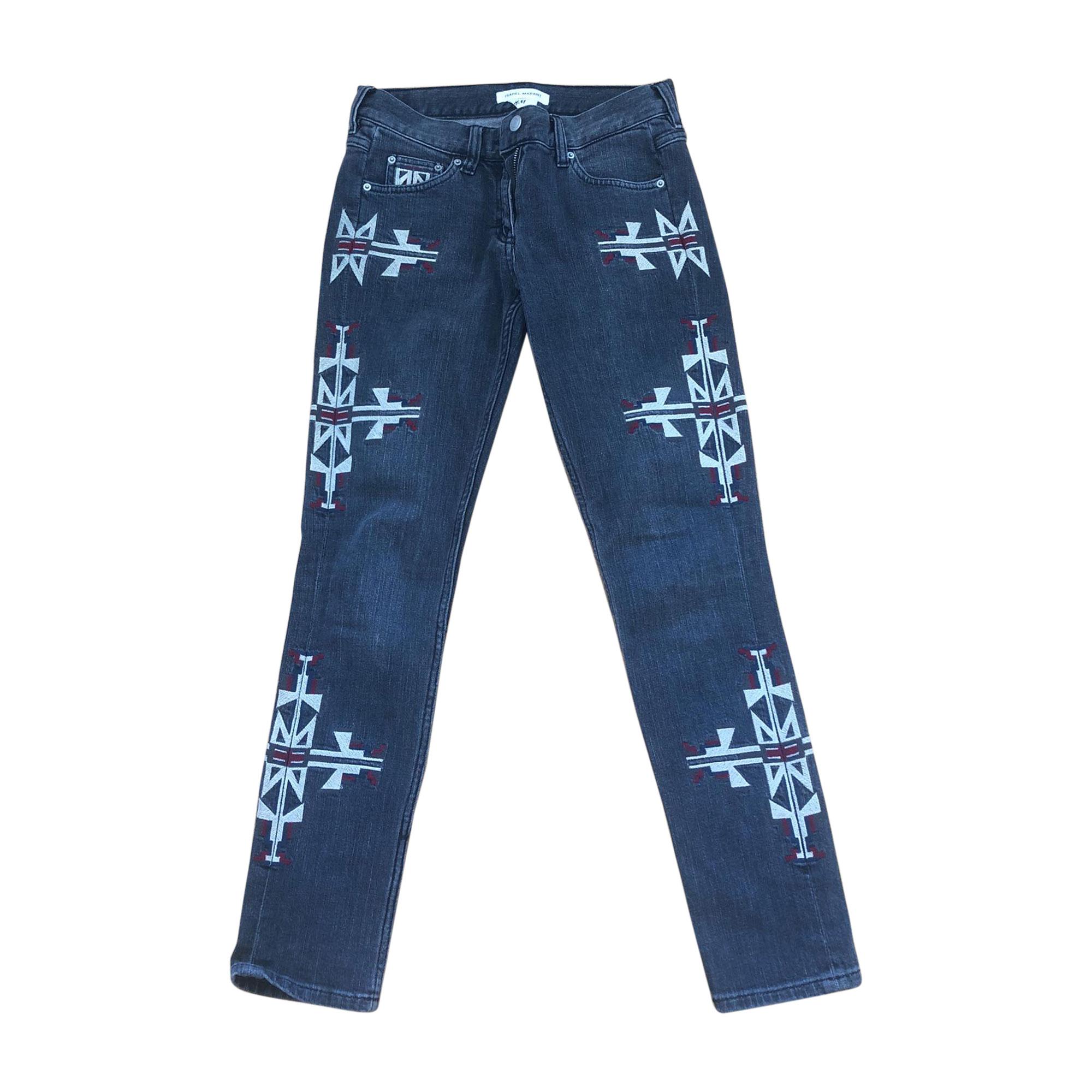 Straight-Cut Jeans  ISABEL MARANT Schwarz