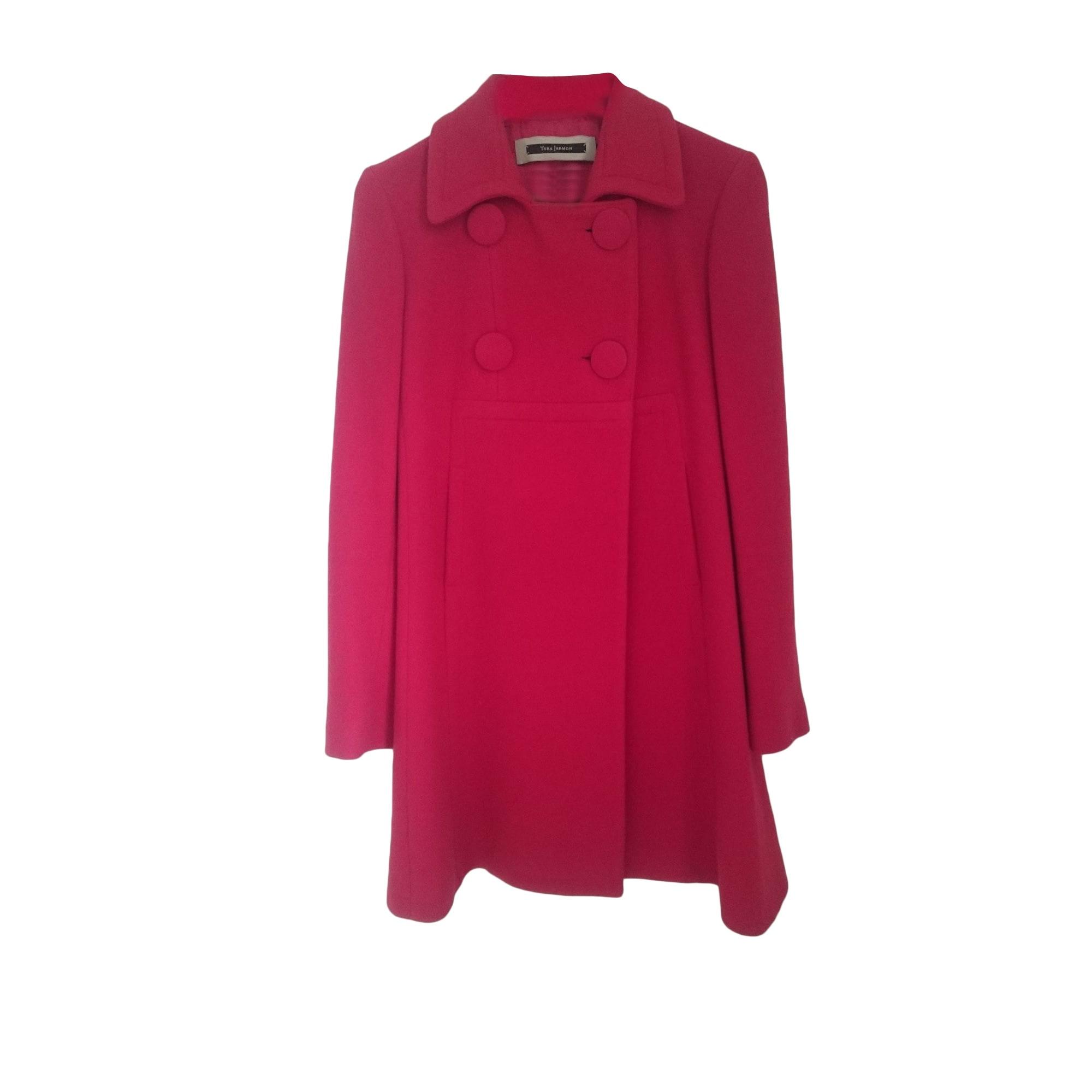 Manteau TARA JARMON 40 (L, T3) rouge vendu par Laura129732 - 8030580 302949291db6