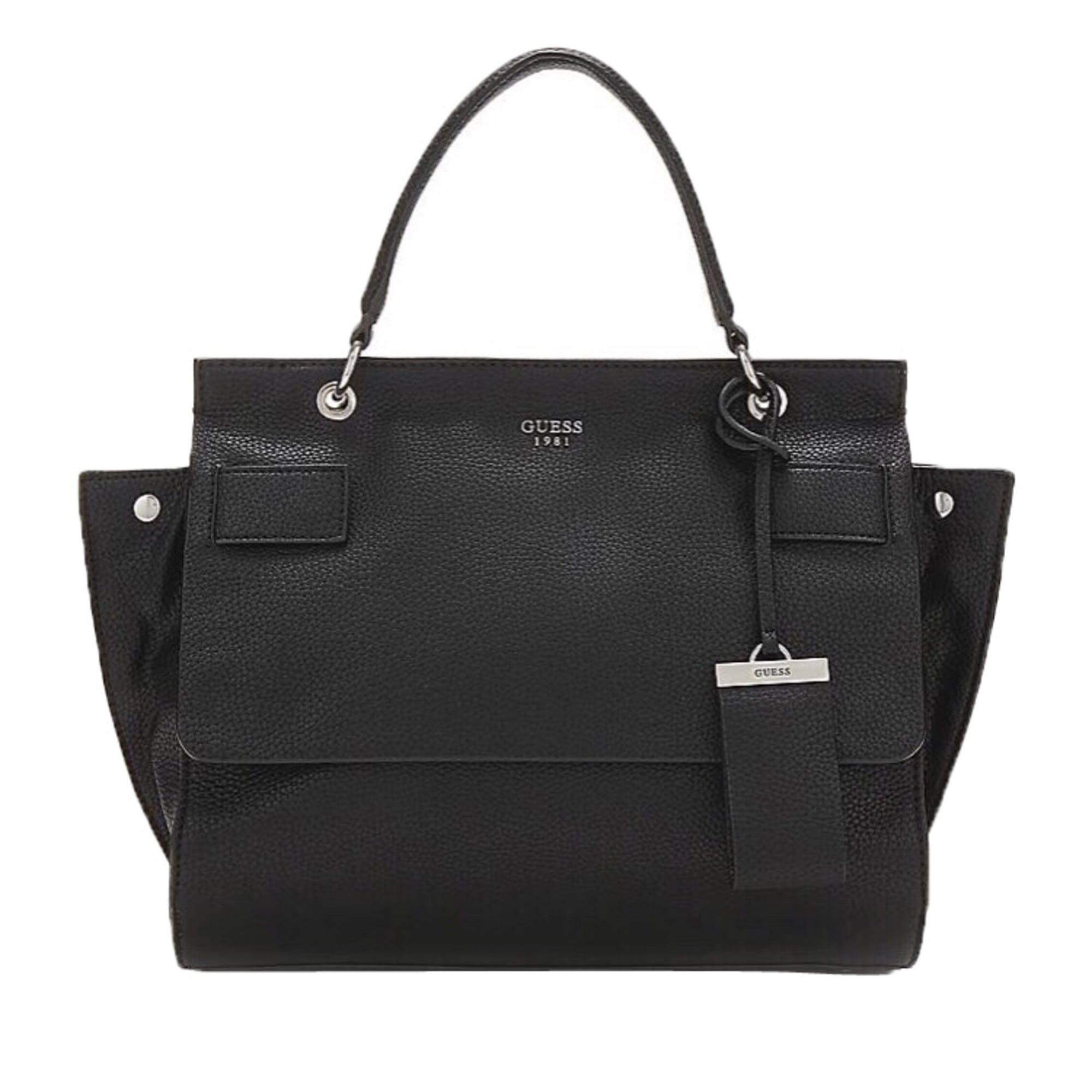 ef03e2f80a Sac à main en cuir GUESS noir vendu par Dressing de marque - 8033719