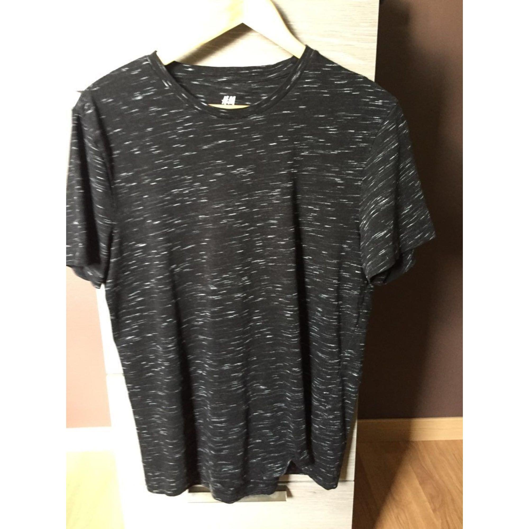 Tee-shirt H&M Noir