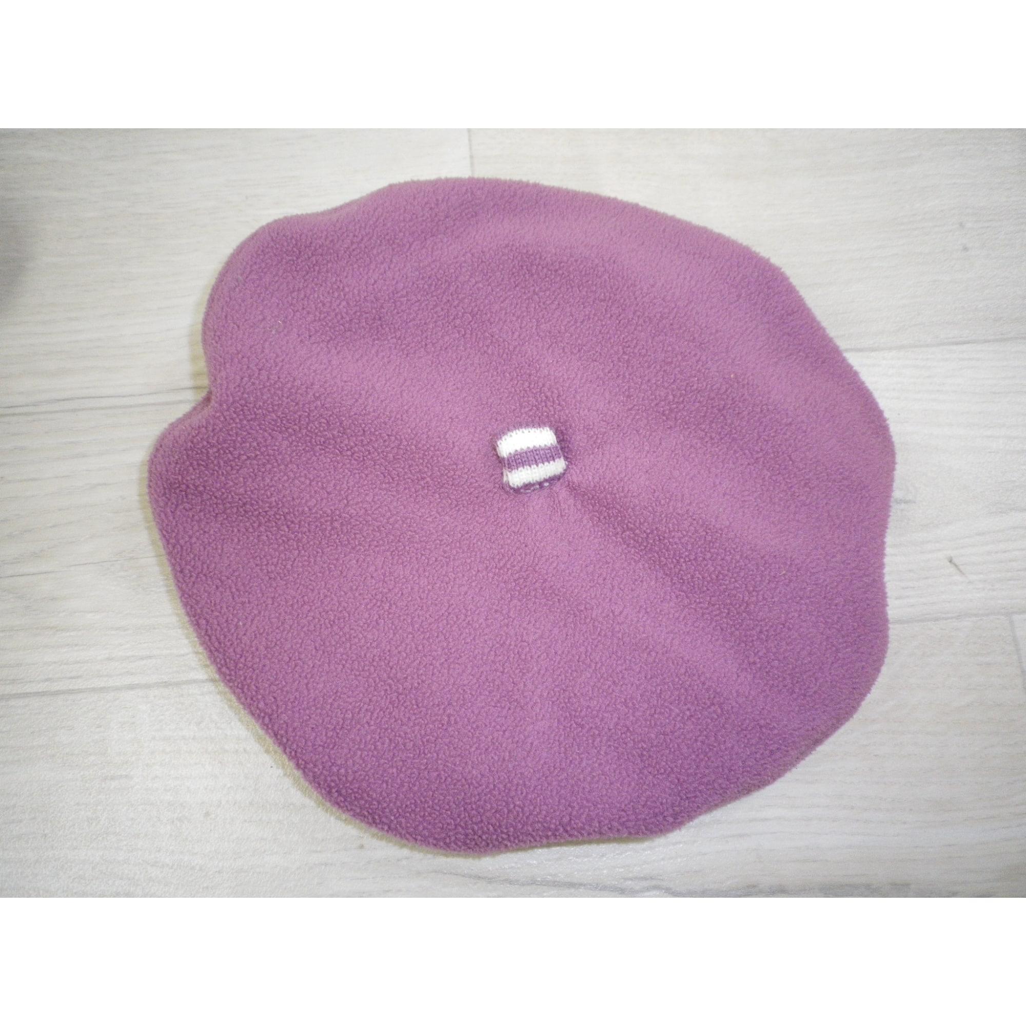 Bonnet OKAÏDI 3-4 ans violet - 804199 a42e30186fa
