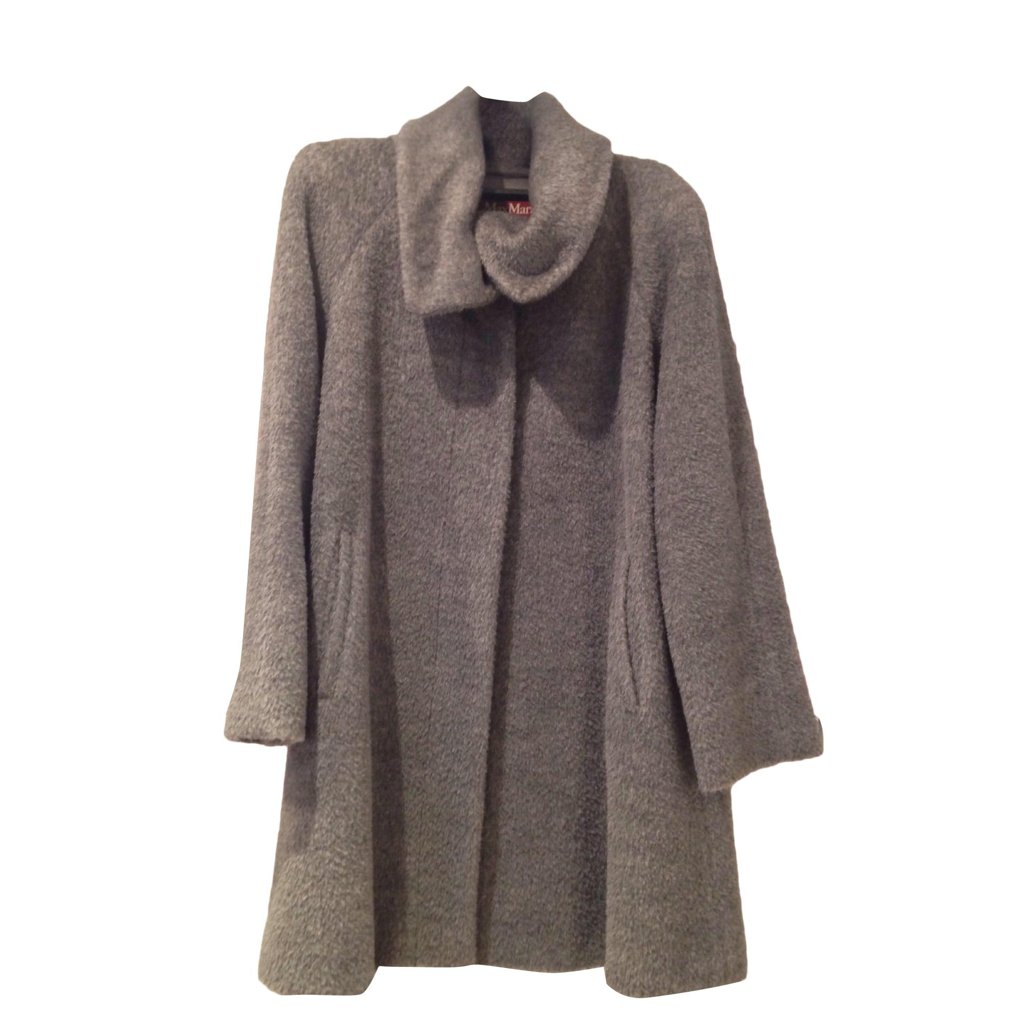 Manteau gris souris